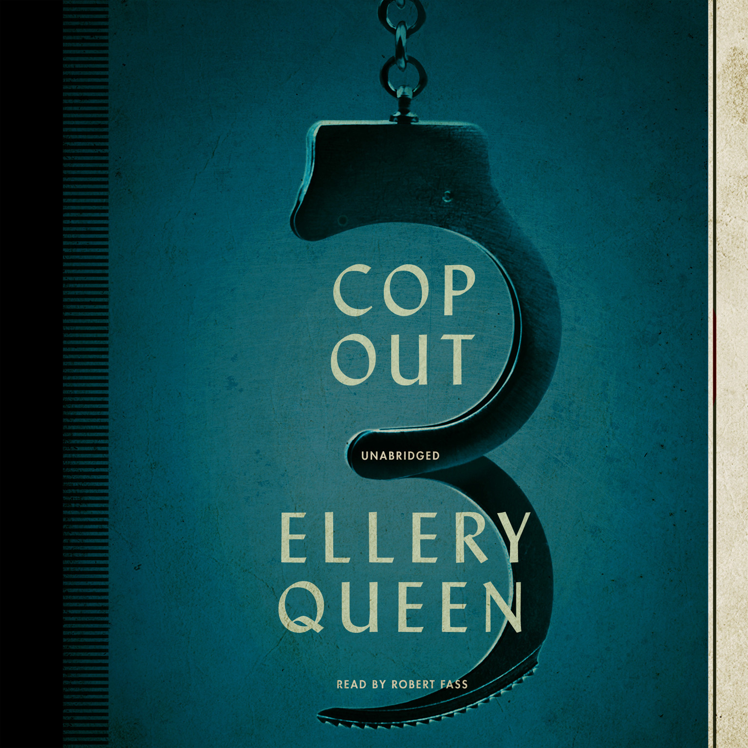 Printable Cop Out: A Novel Audiobook Cover Art
