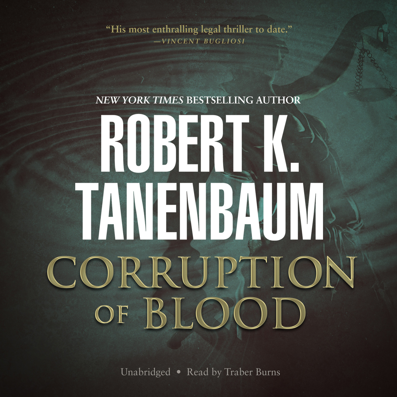 Printable Corruption of Blood Audiobook Cover Art