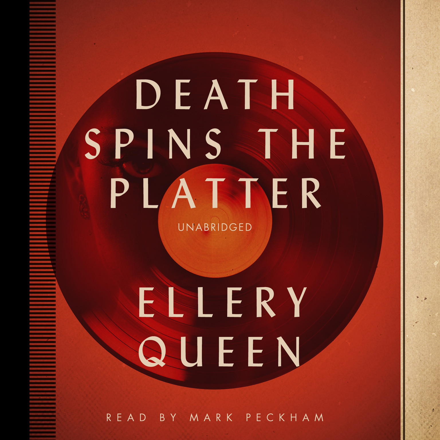 Printable Death Spins the Platter Audiobook Cover Art