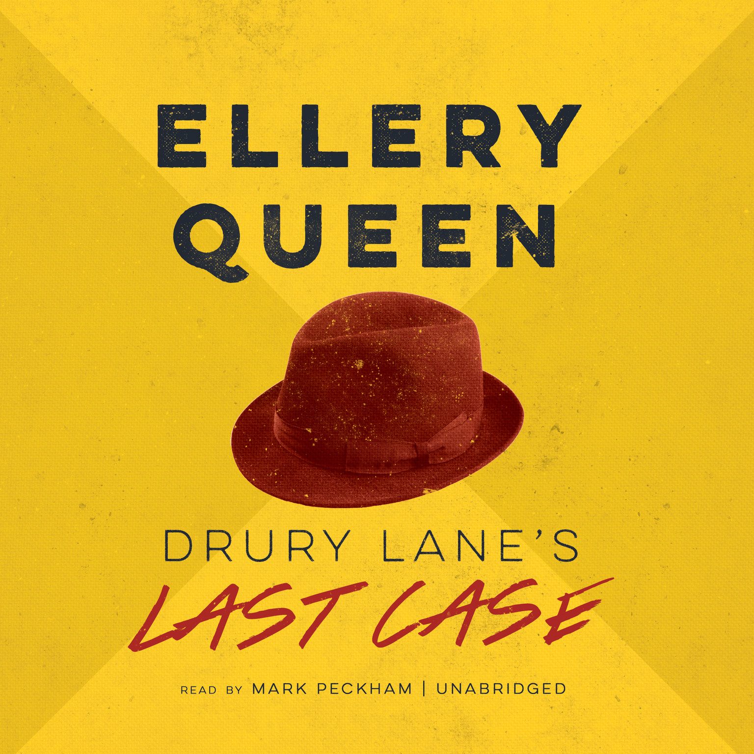 Printable Drury Lane's Last Case Audiobook Cover Art