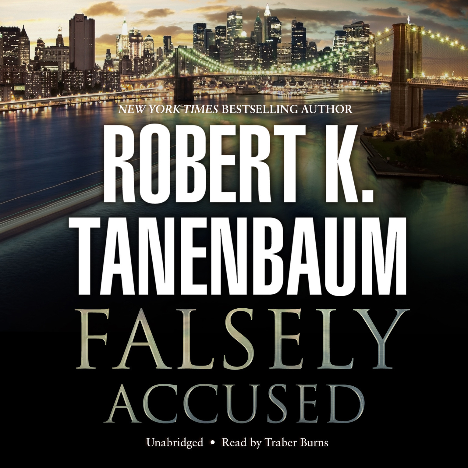 Printable Falsely Accused Audiobook Cover Art