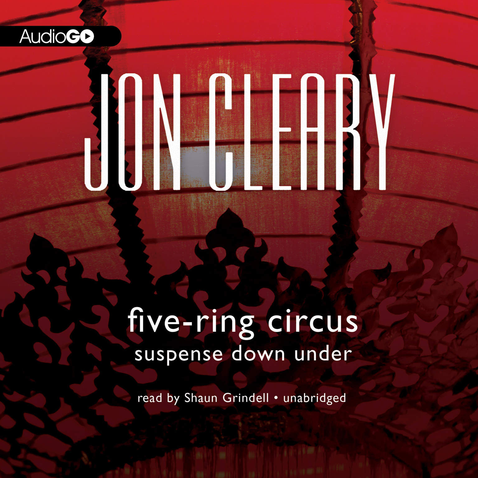Printable Five-Ring Circus: Suspense Down Under Audiobook Cover Art