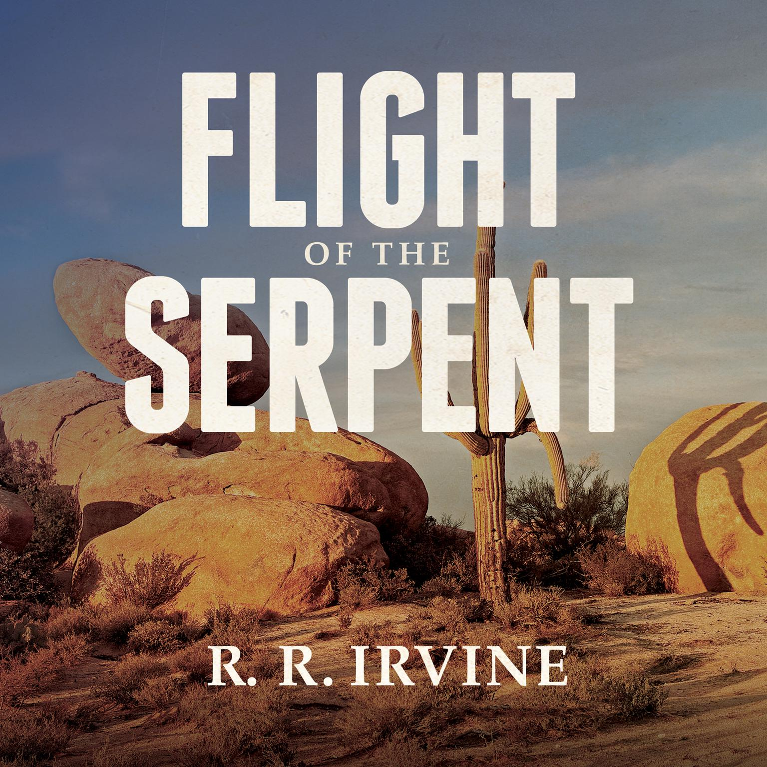 Printable Flight of the Serpent Audiobook Cover Art