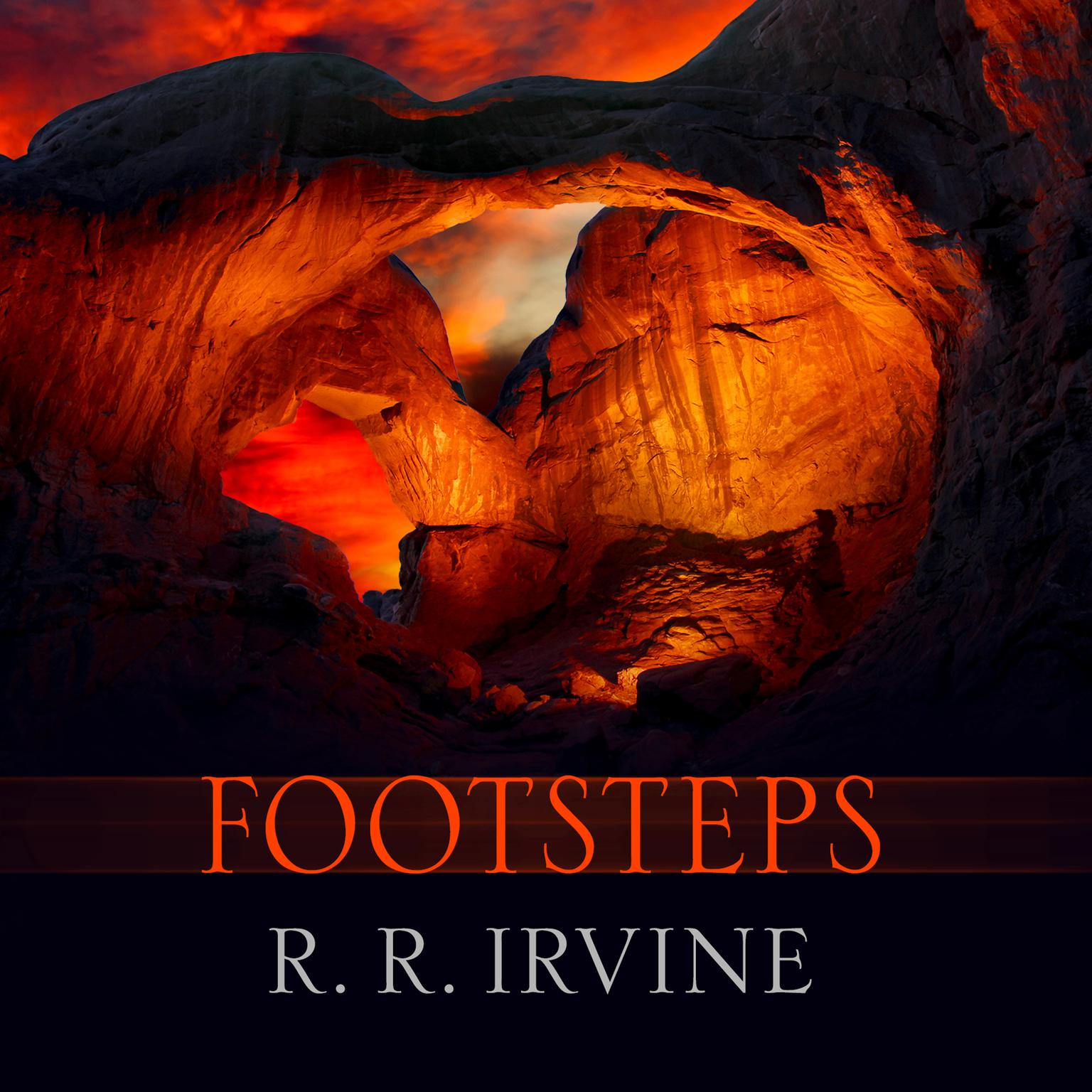 Printable Footsteps Audiobook Cover Art