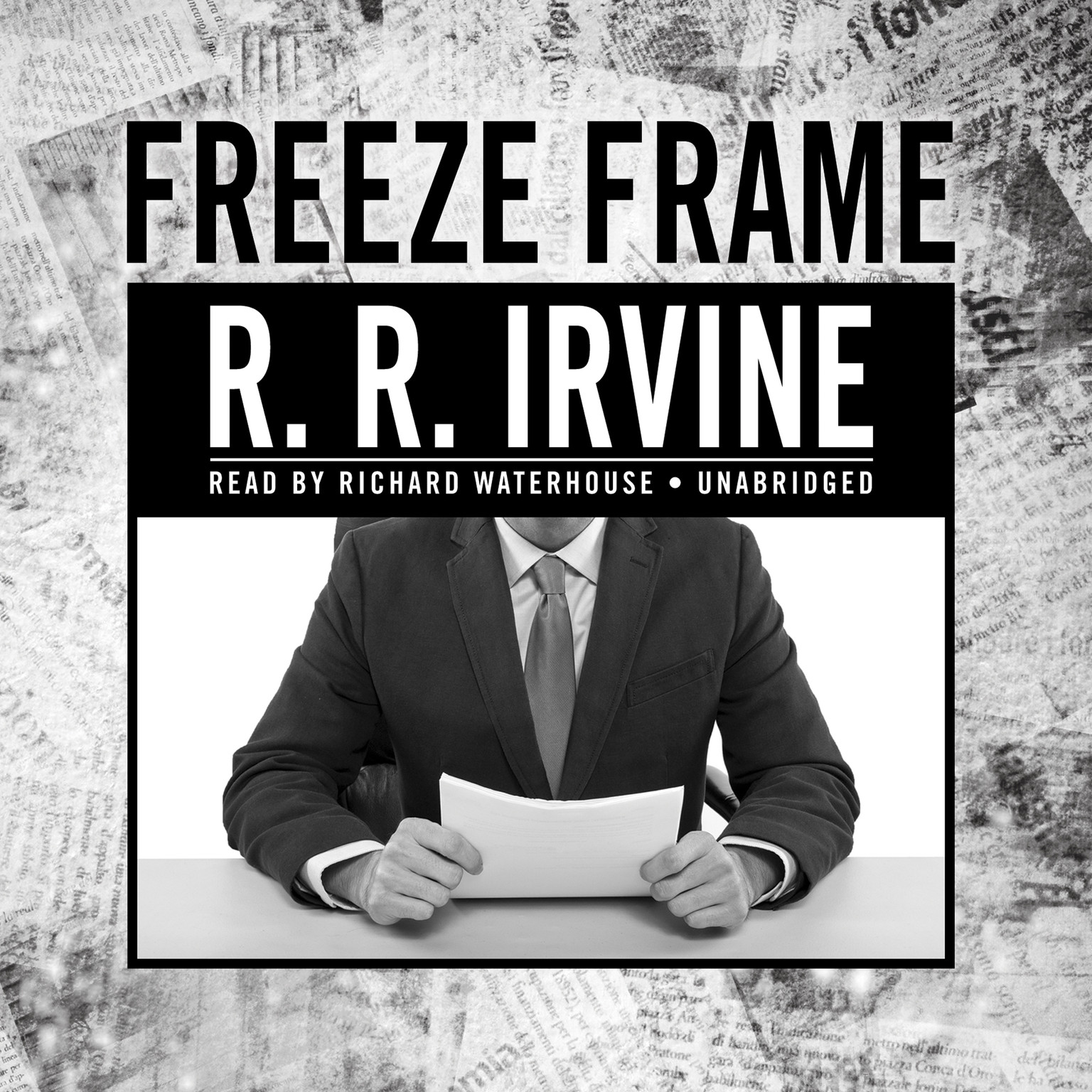 Printable Freeze Frame: A Novel Audiobook Cover Art