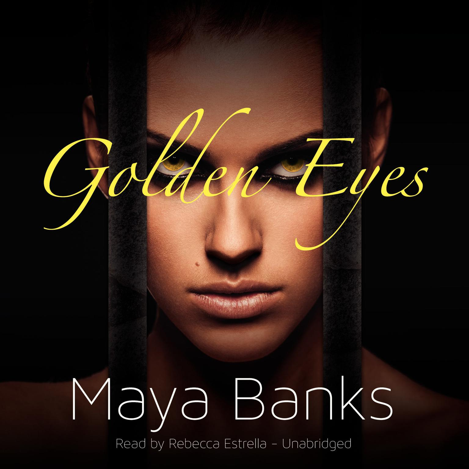 Printable Golden Eyes Audiobook Cover Art