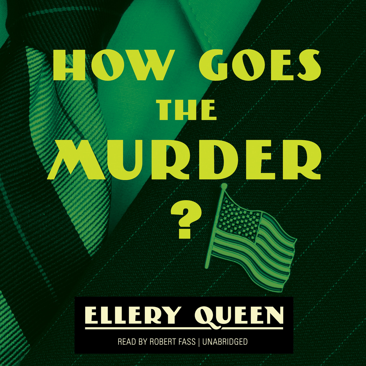 Printable How Goes the Murder? Audiobook Cover Art