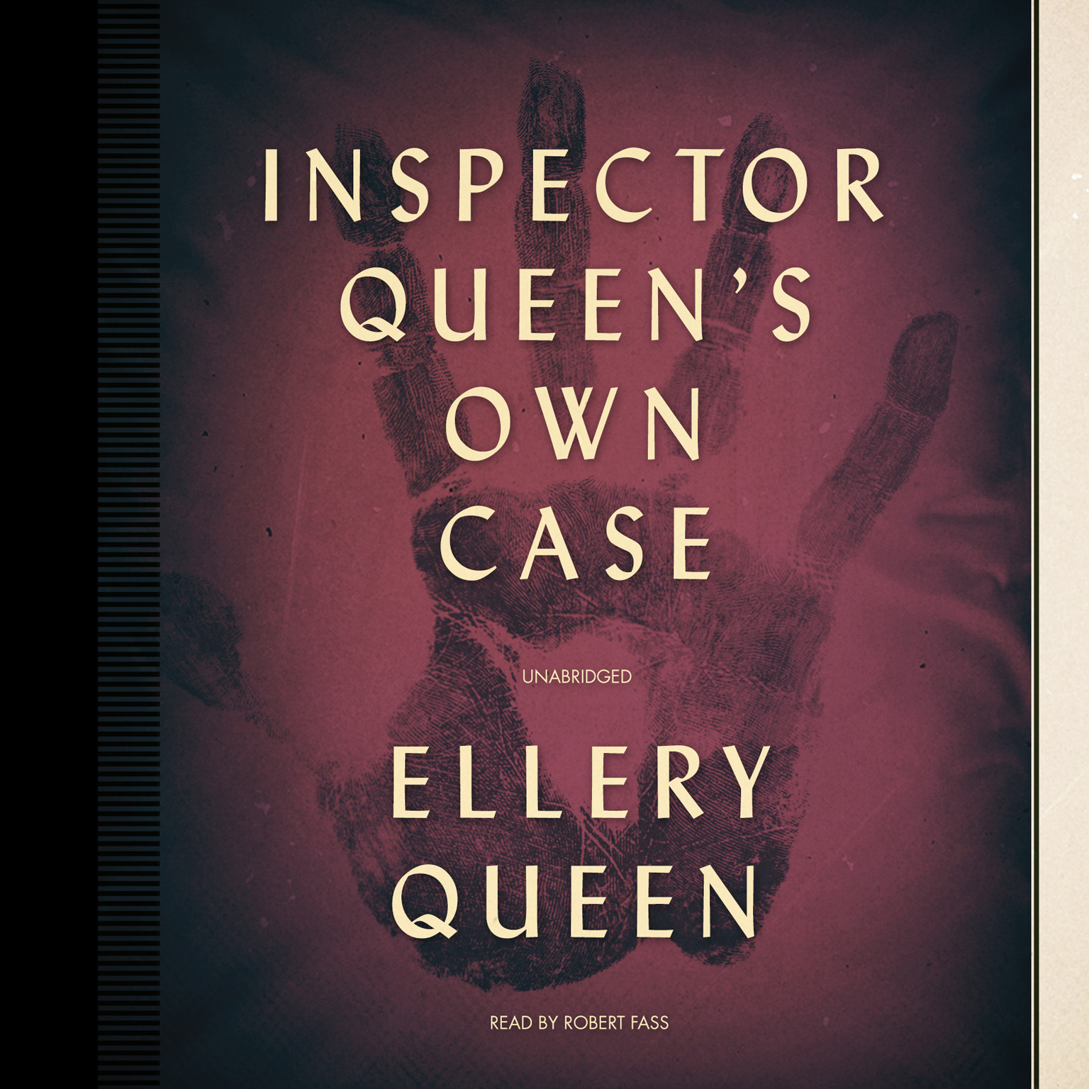 Printable Inspector Queen's Own Case: November Song Audiobook Cover Art