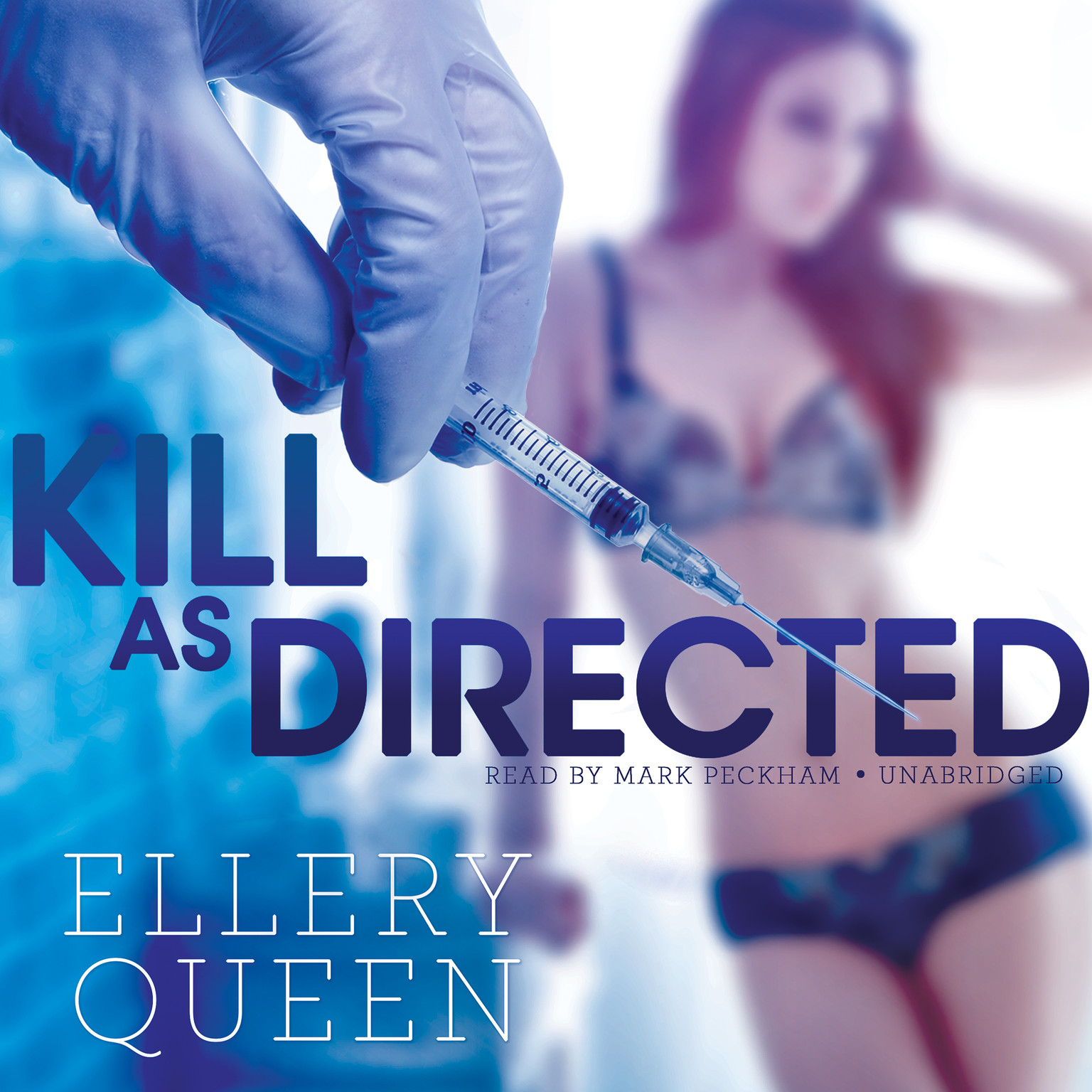 Printable Kill as Directed Audiobook Cover Art