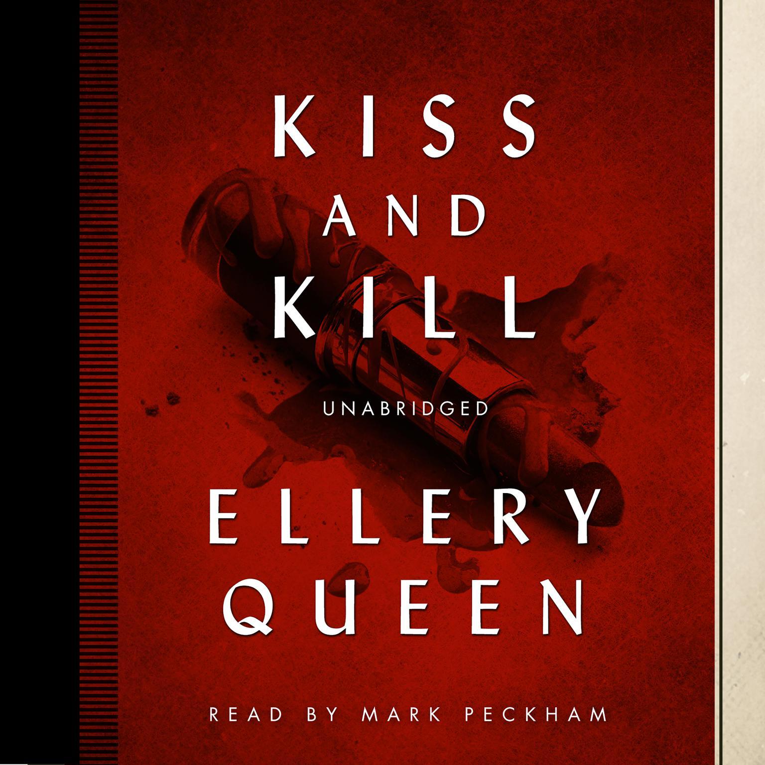 Printable Kiss and Kill Audiobook Cover Art