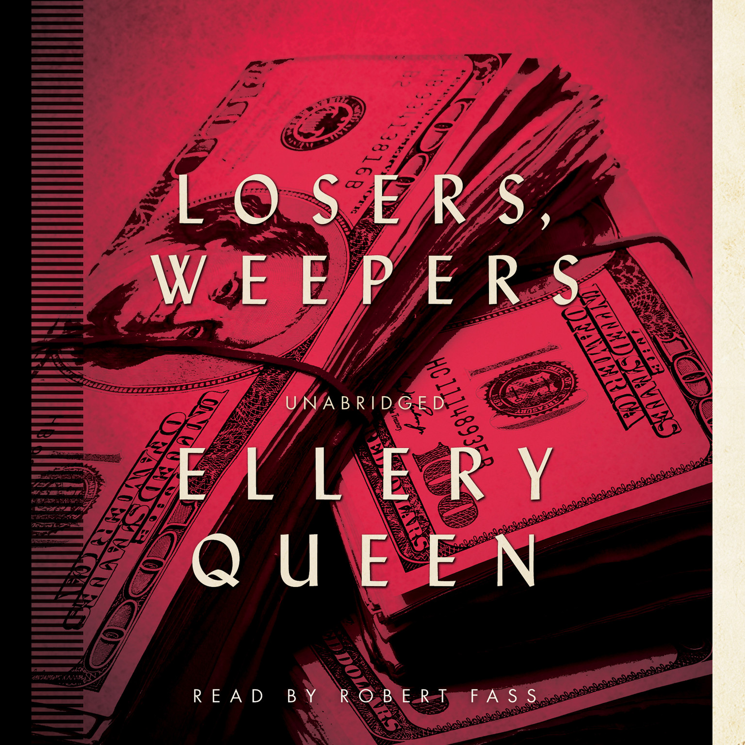 Printable Losers, Weepers Audiobook Cover Art