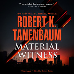Material Witness Audiobook, by Robert K. Tanenbaum