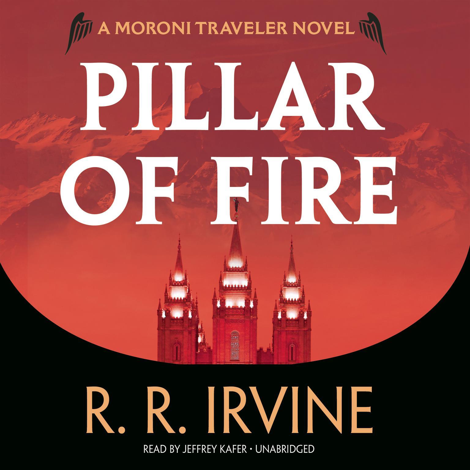 Printable Pillar of Fire: A Moroni Traveler Novel Audiobook Cover Art