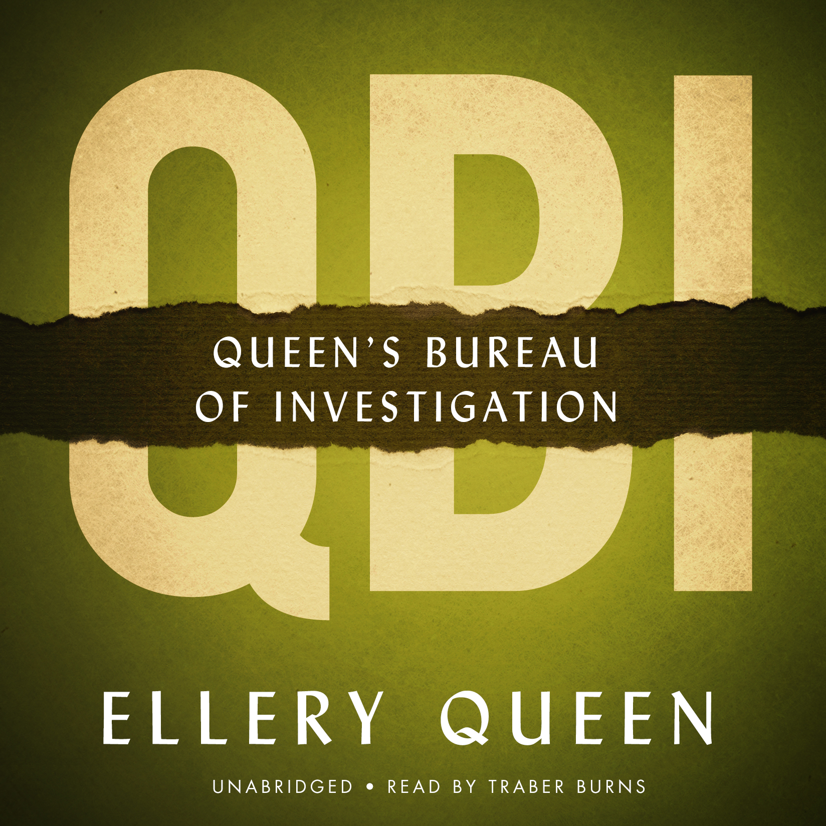 Printable QBI: Queen's Bureau of Investigation Audiobook Cover Art