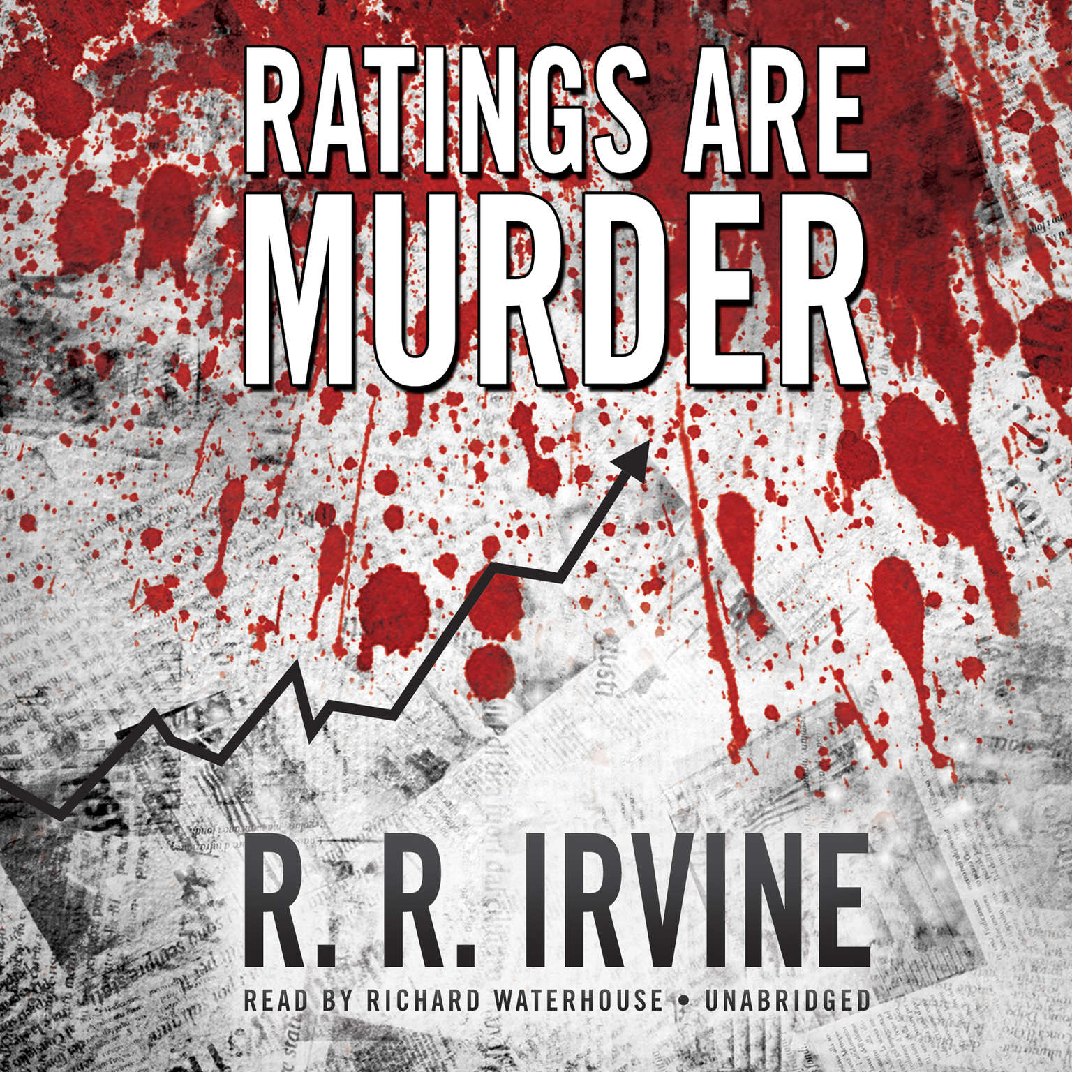 Printable Ratings Are Murder Audiobook Cover Art