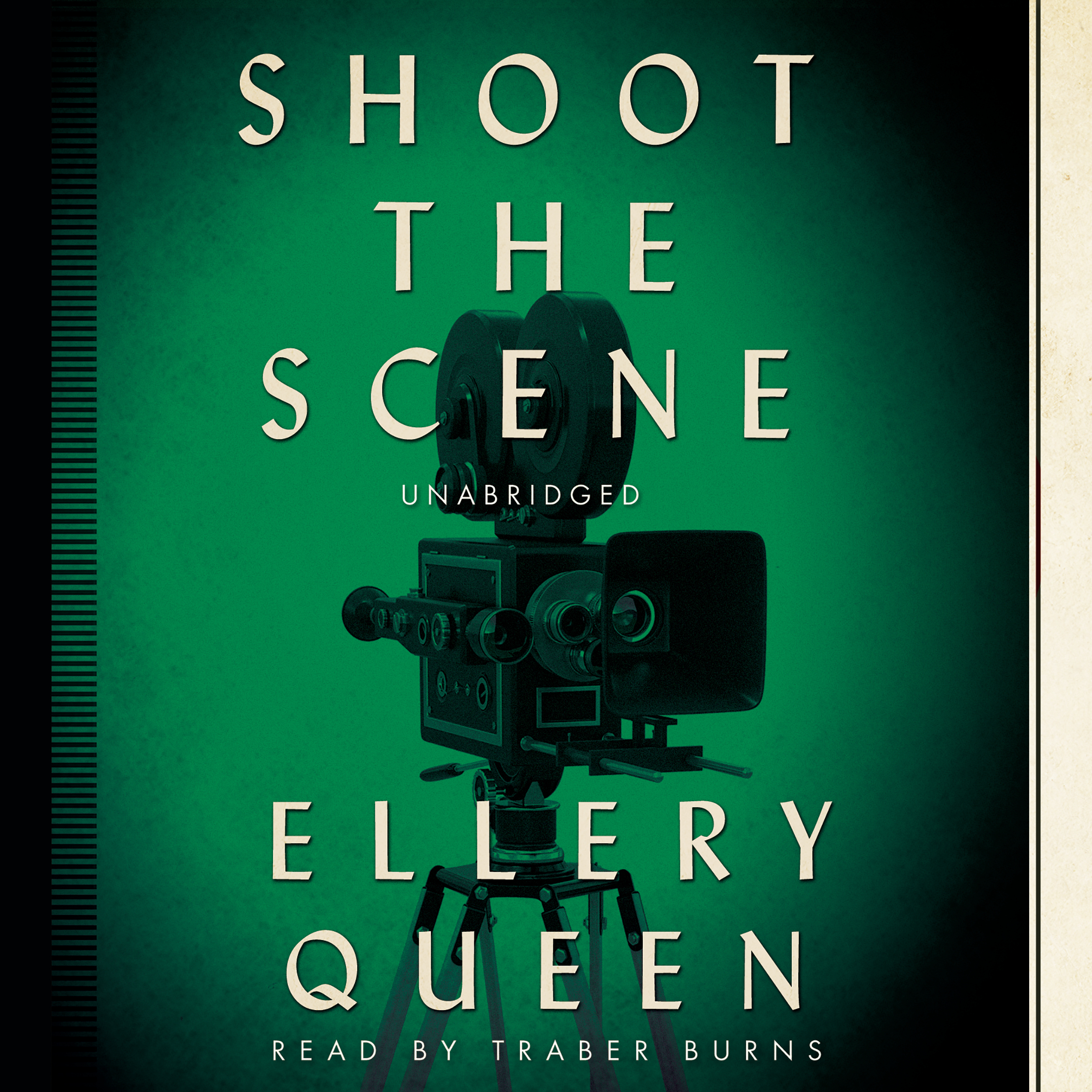 Printable Shoot the Scene Audiobook Cover Art