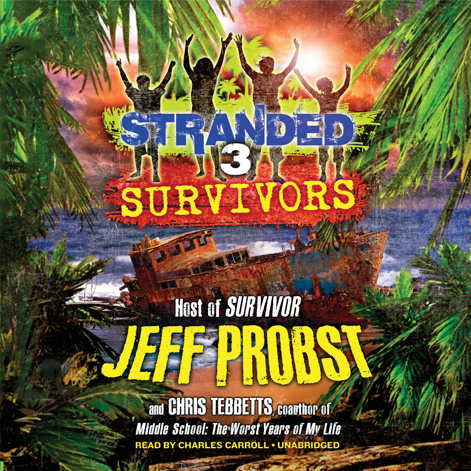 Printable Survivors Audiobook Cover Art