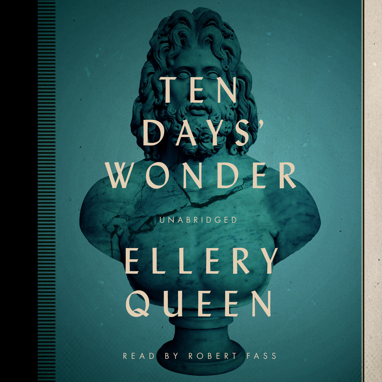 Printable Ten Days' Wonder Audiobook Cover Art