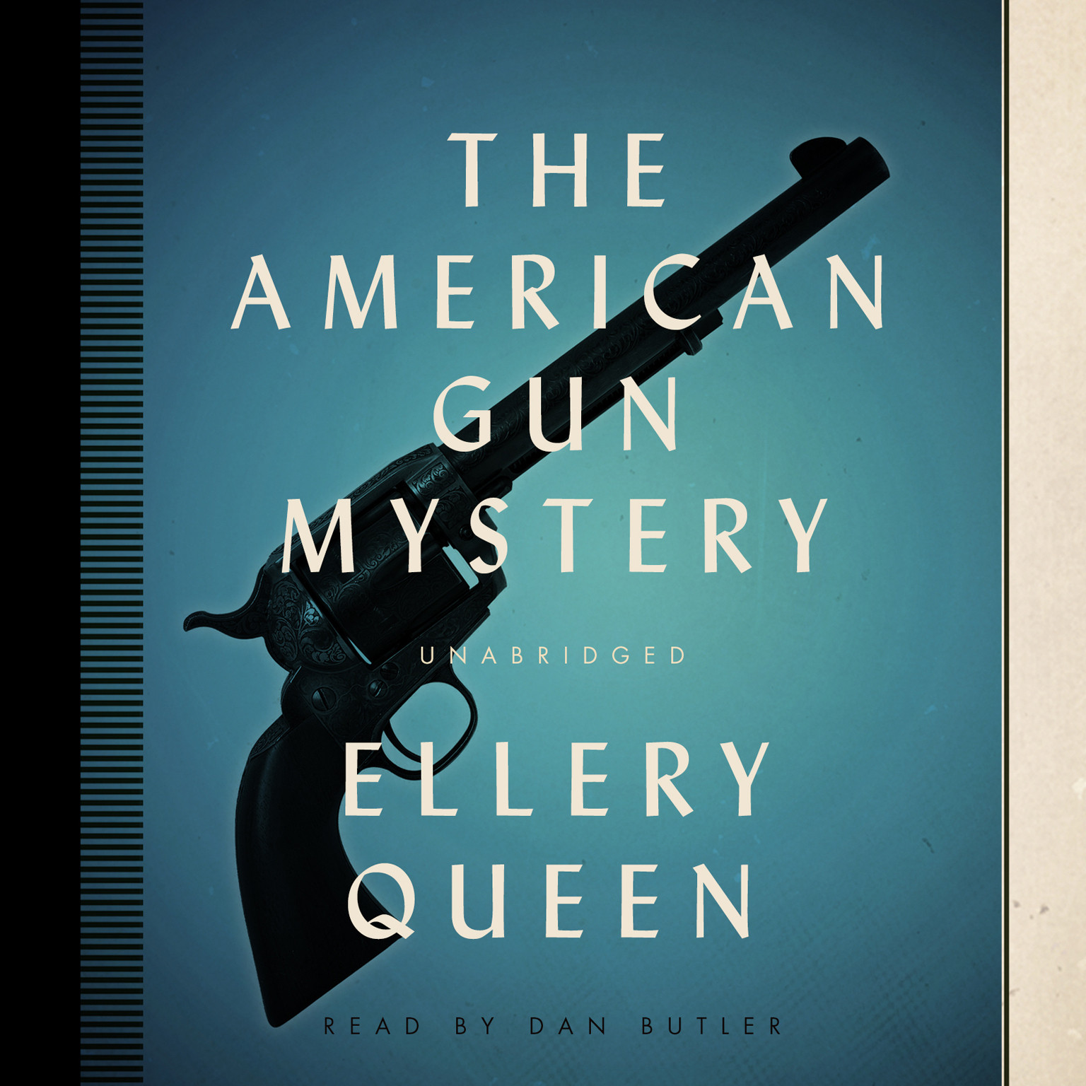Printable The American Gun Mystery Audiobook Cover Art