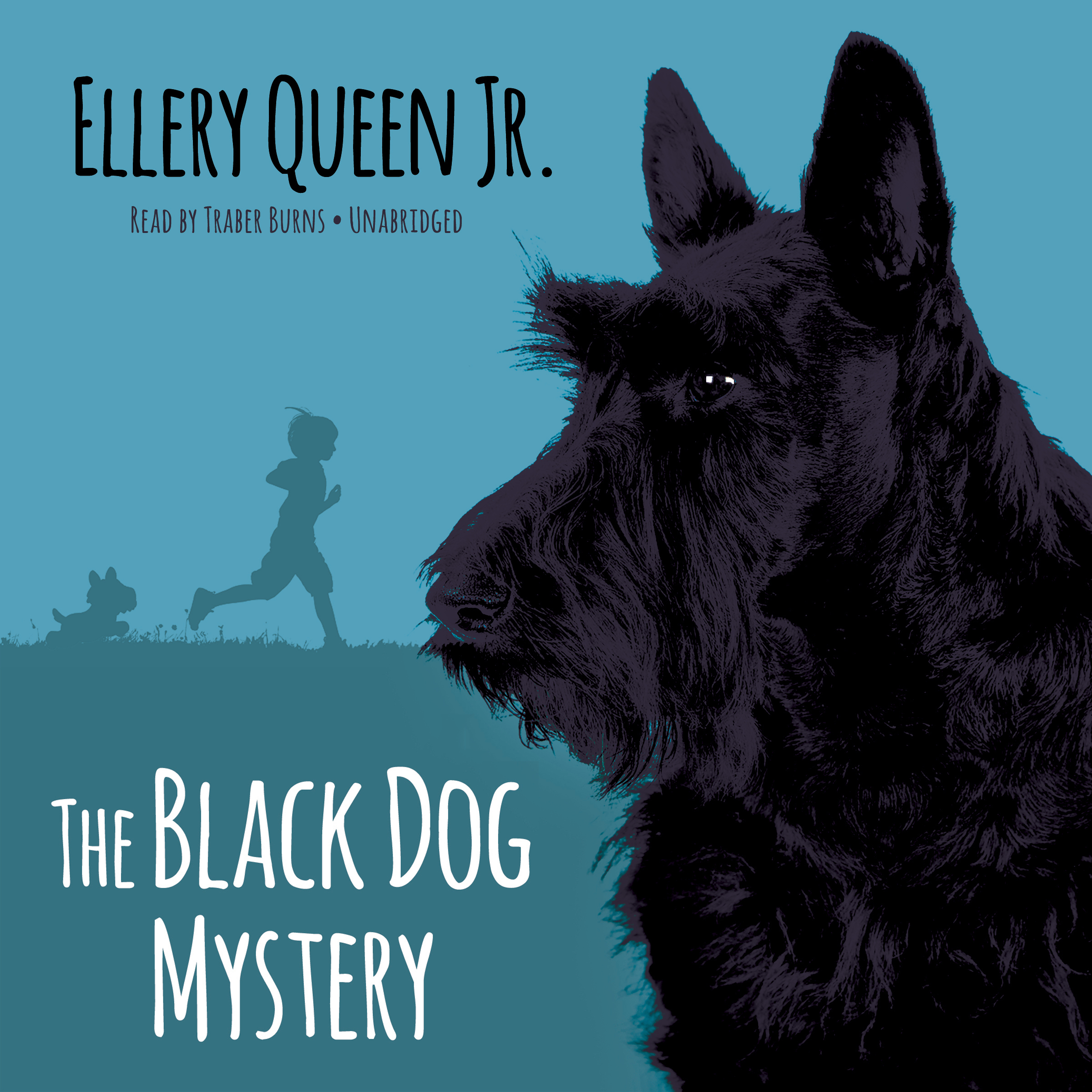 Printable The Black Dog Mystery Audiobook Cover Art