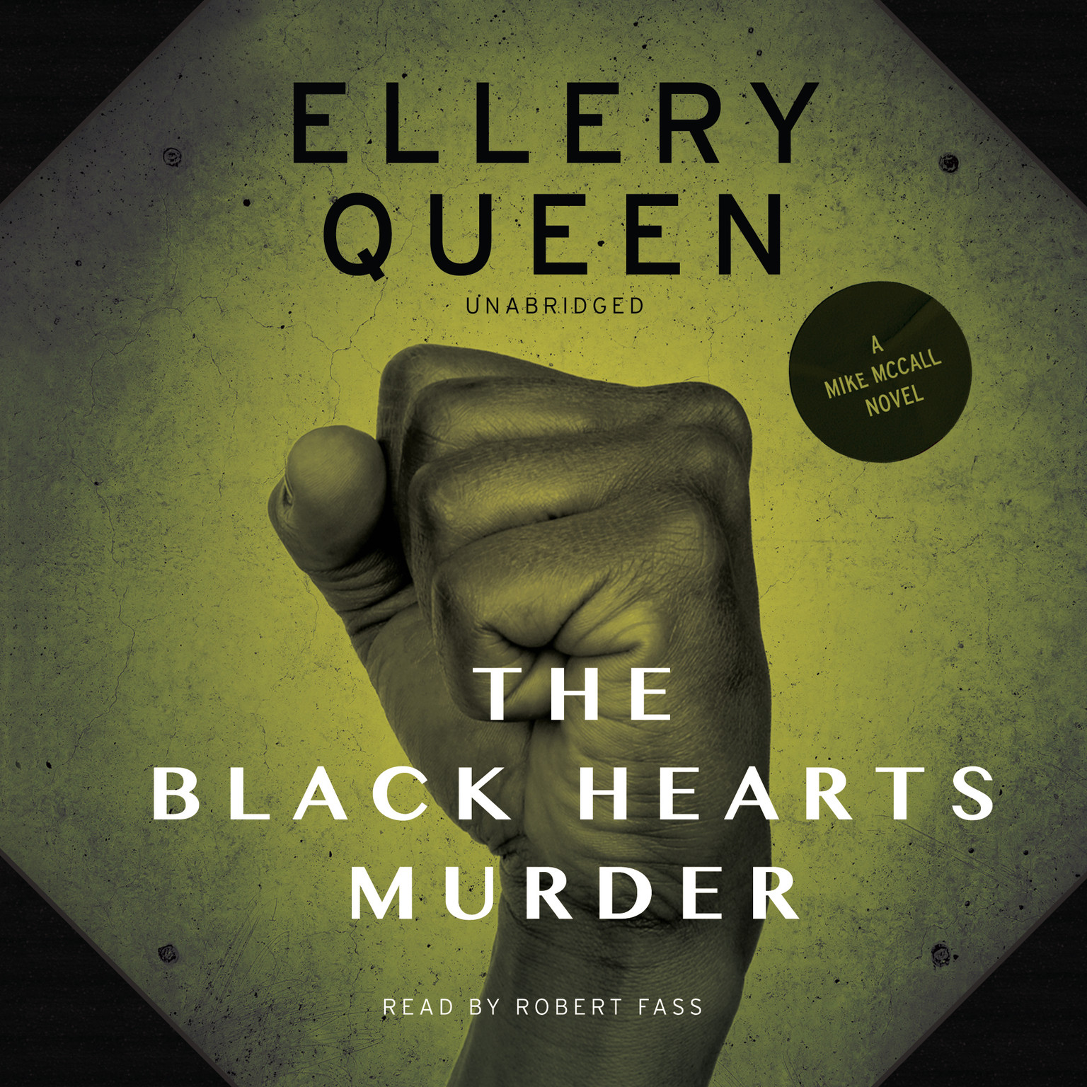 Printable The Black Hearts Murder Audiobook Cover Art