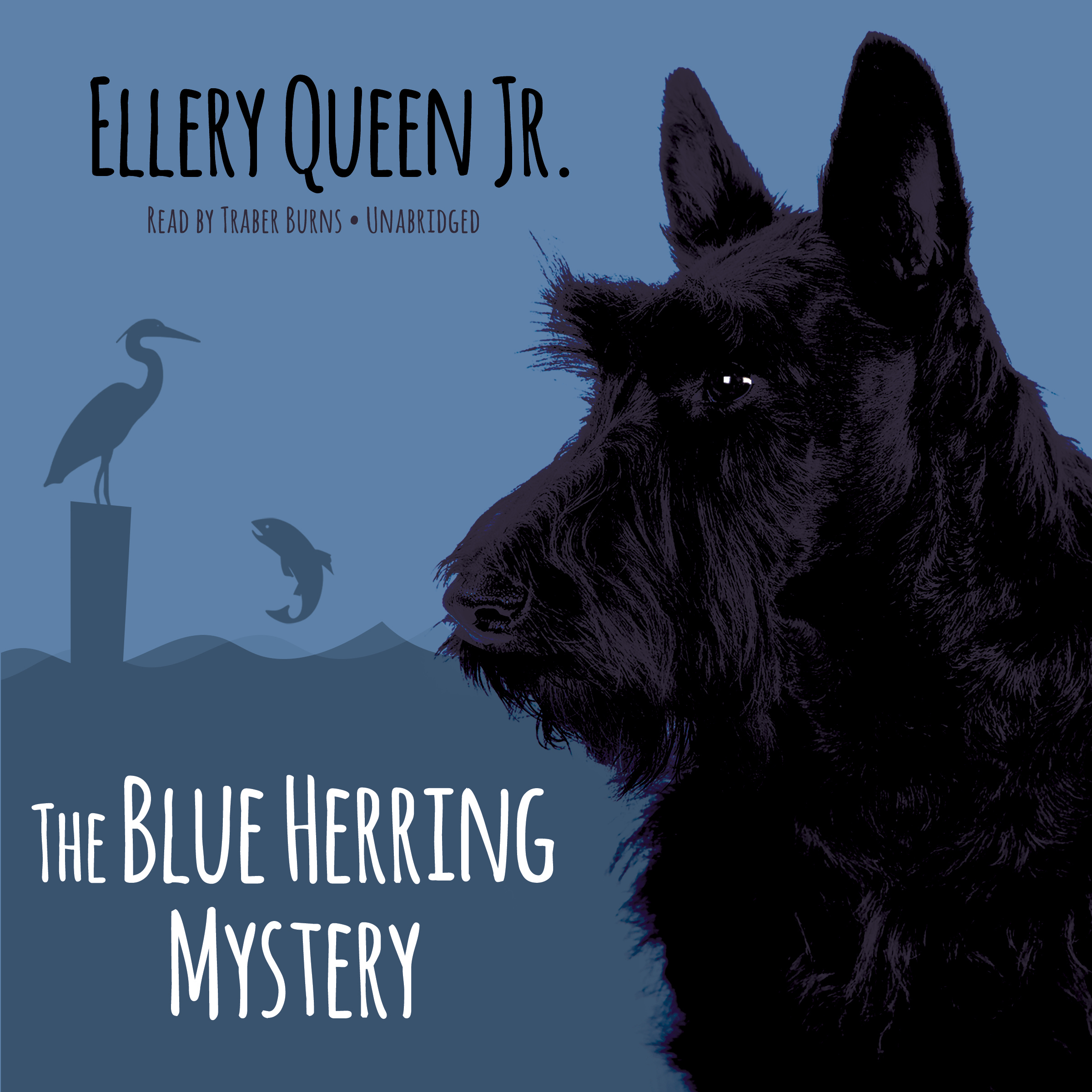Printable The Blue Herring Mystery Audiobook Cover Art