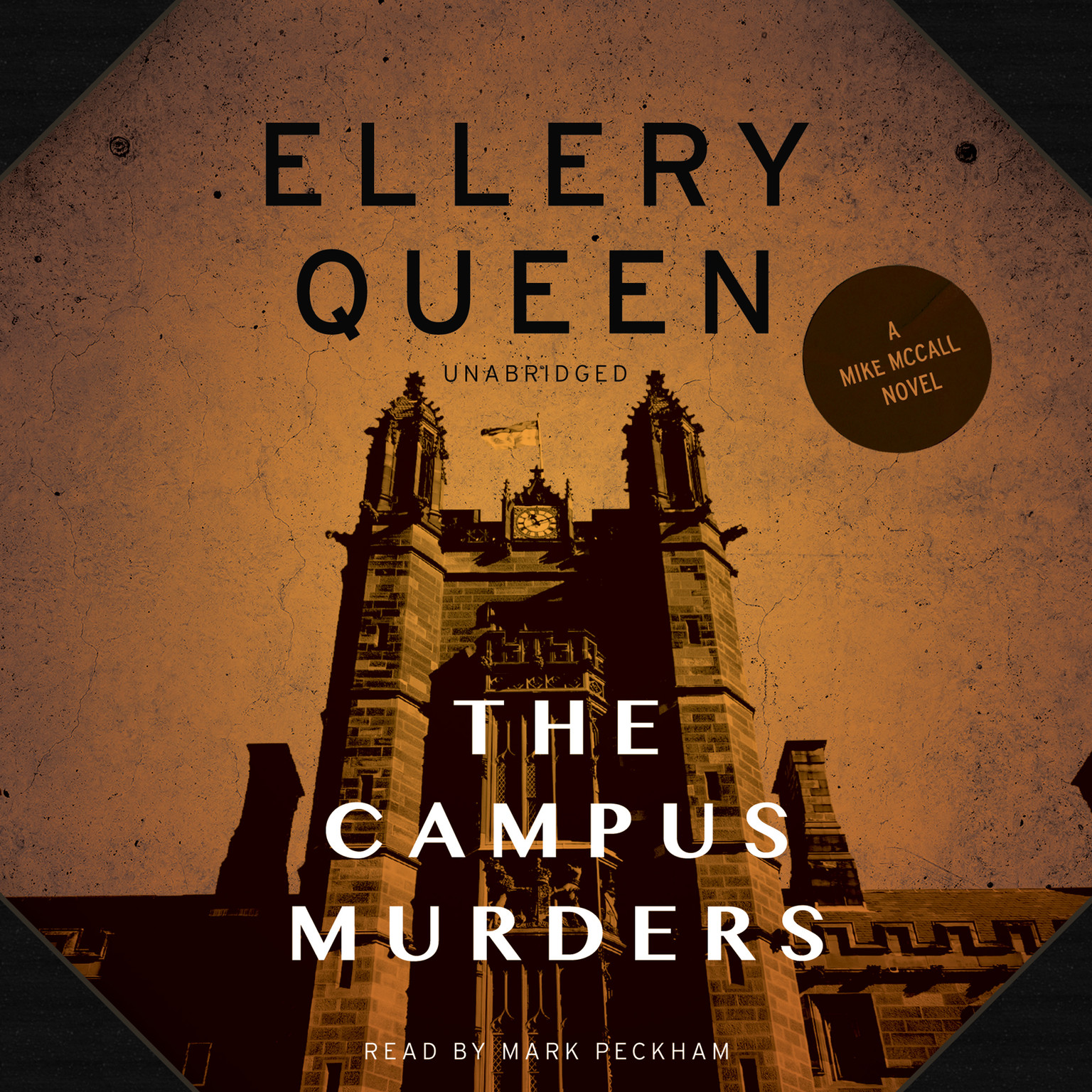 Printable The Campus Murders Audiobook Cover Art