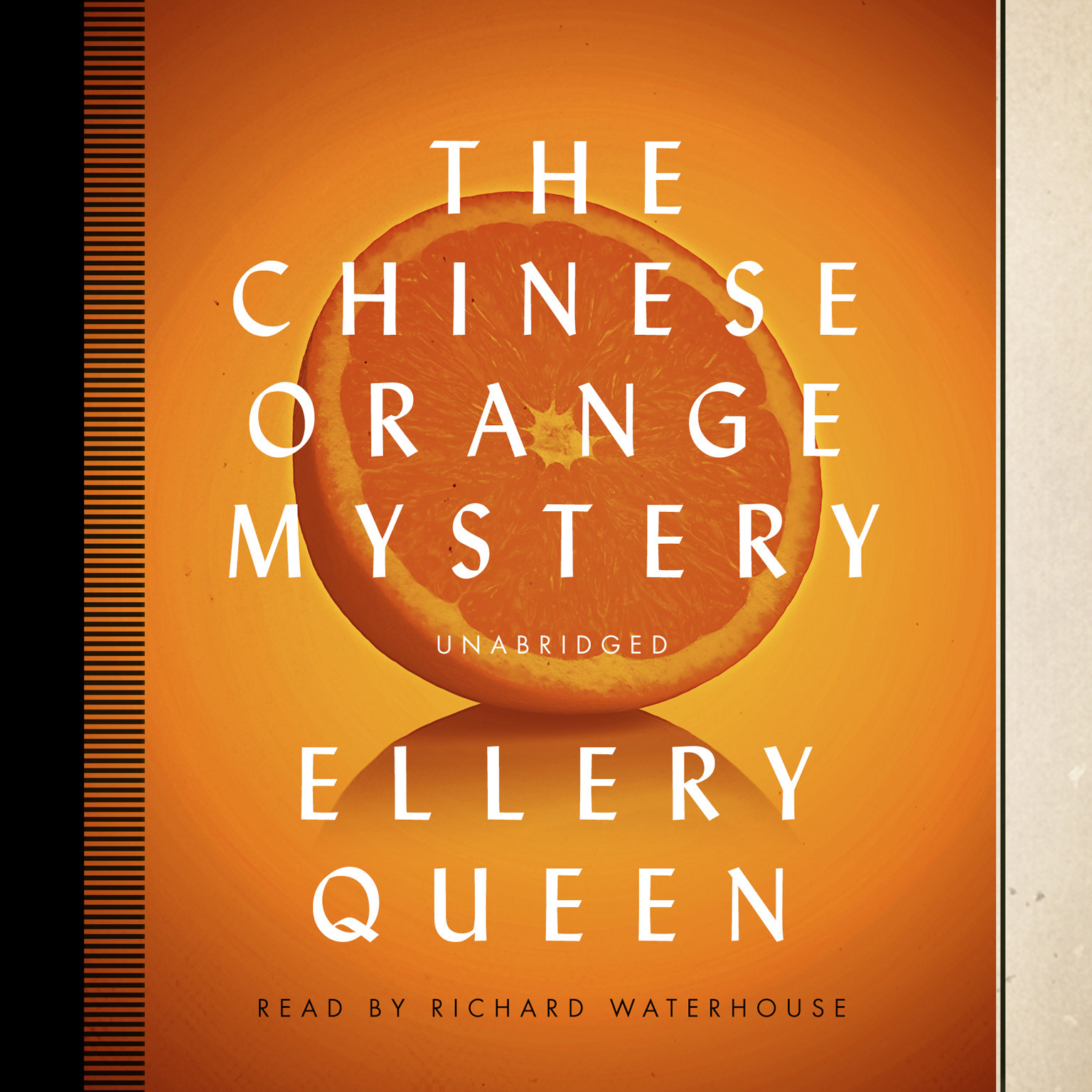 Printable The Chinese Orange Mystery Audiobook Cover Art