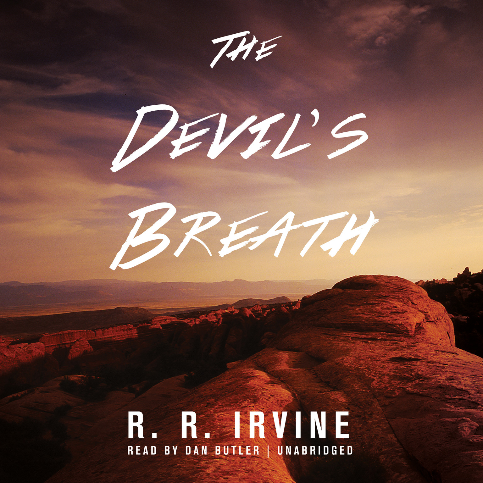 Printable The Devil's Breath Audiobook Cover Art