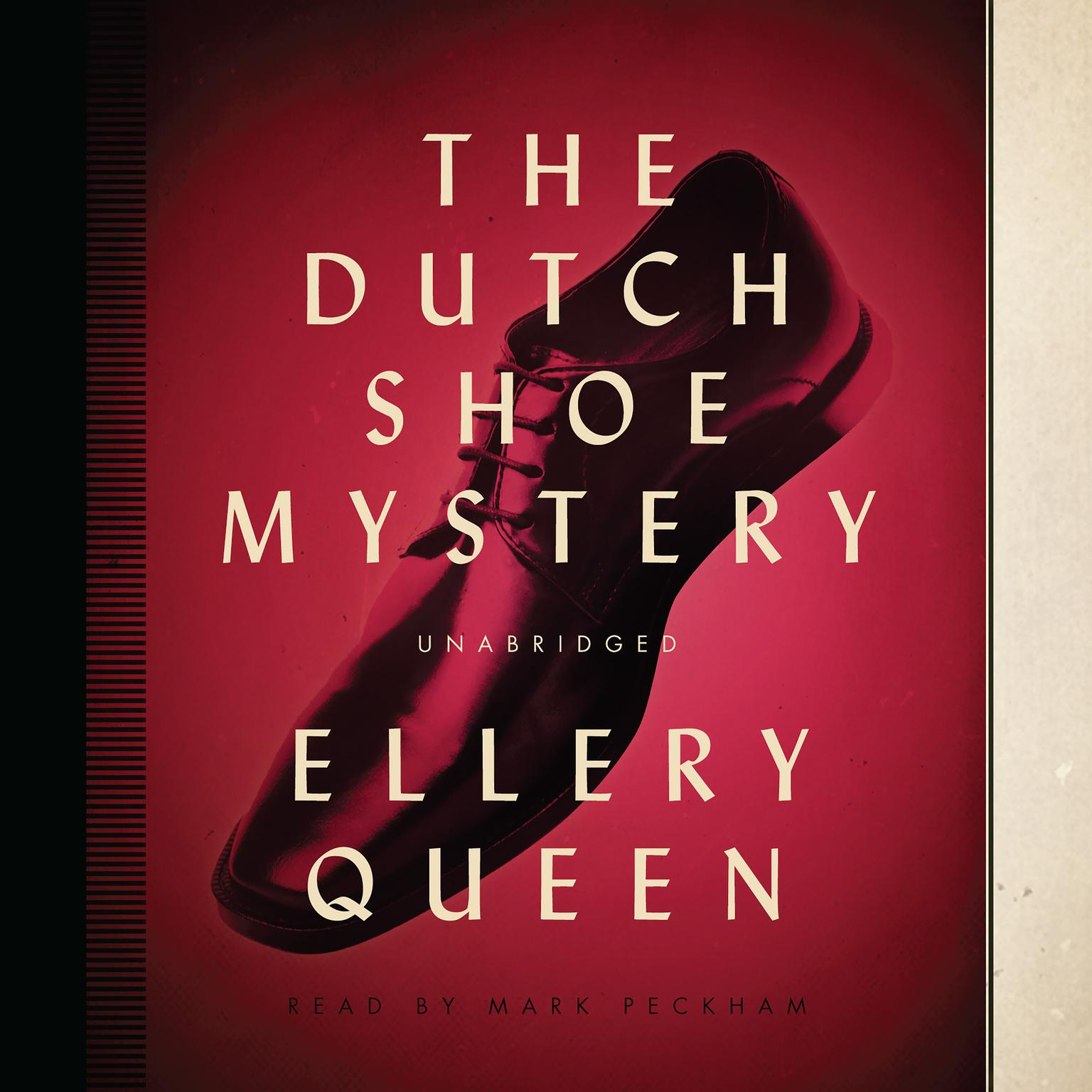 Printable The Dutch Shoe Mystery Audiobook Cover Art