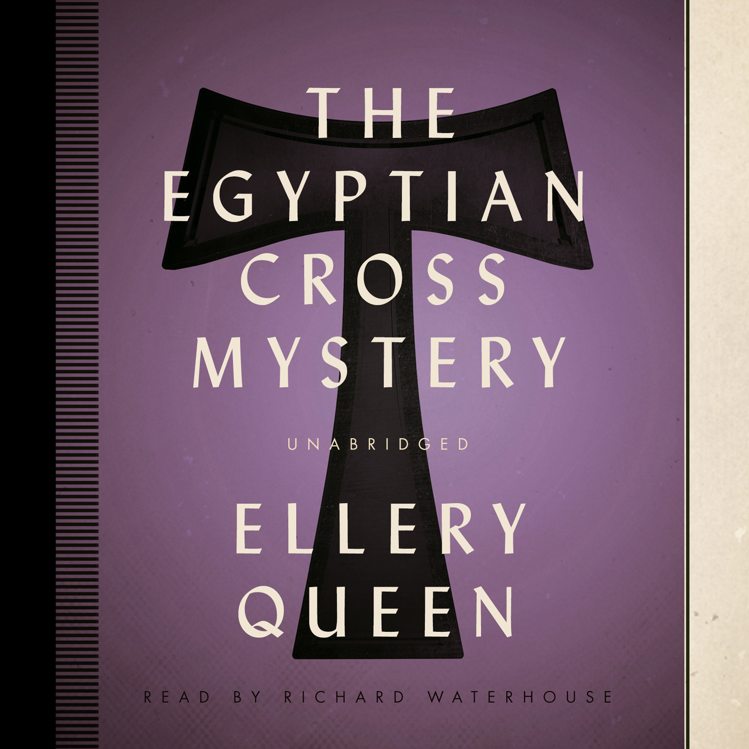 Printable The Egyptian Cross Mystery Audiobook Cover Art