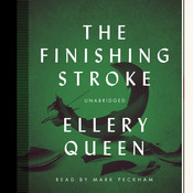 The Finishing Stroke Audiobook, by Ellery Queen