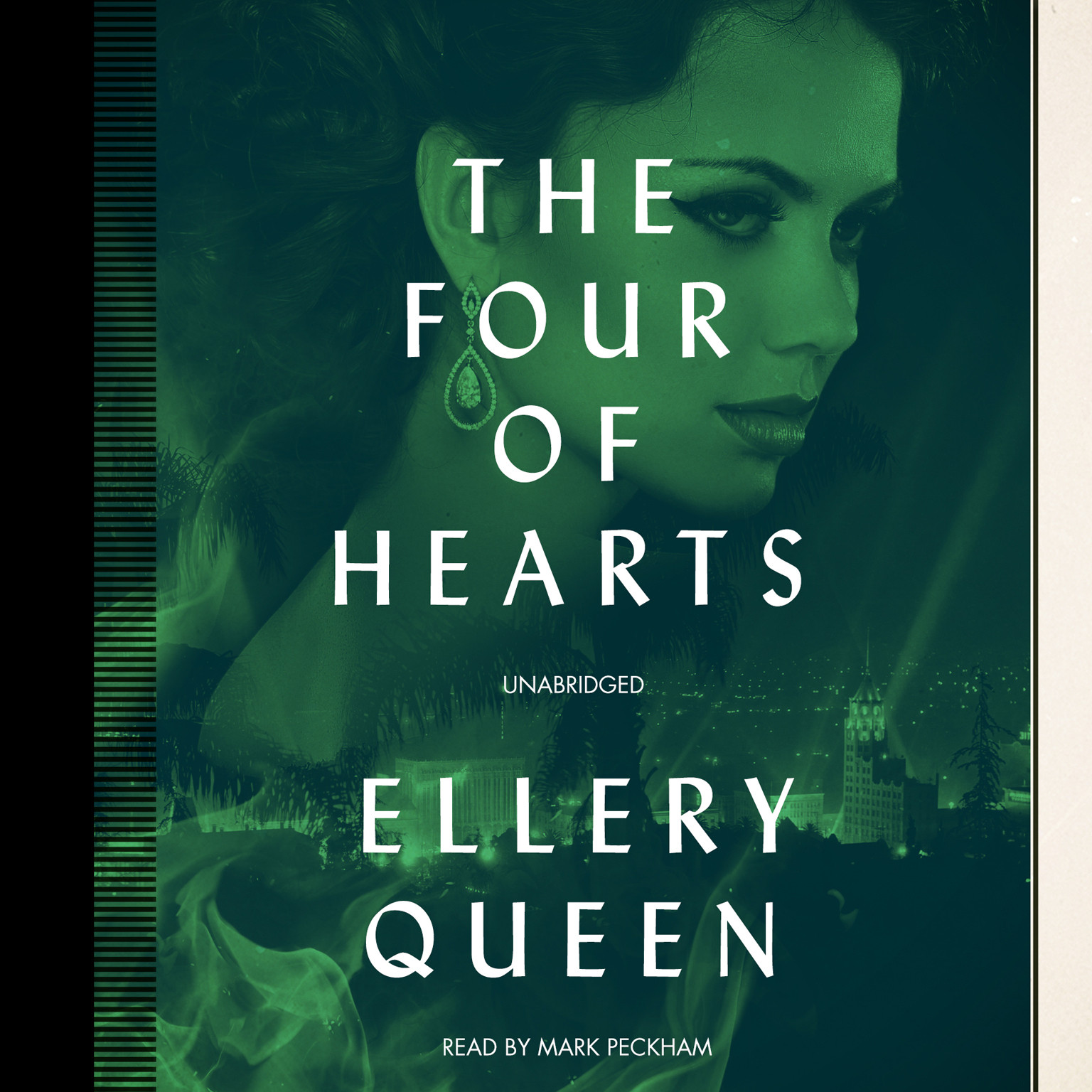Printable The Four of Hearts Audiobook Cover Art