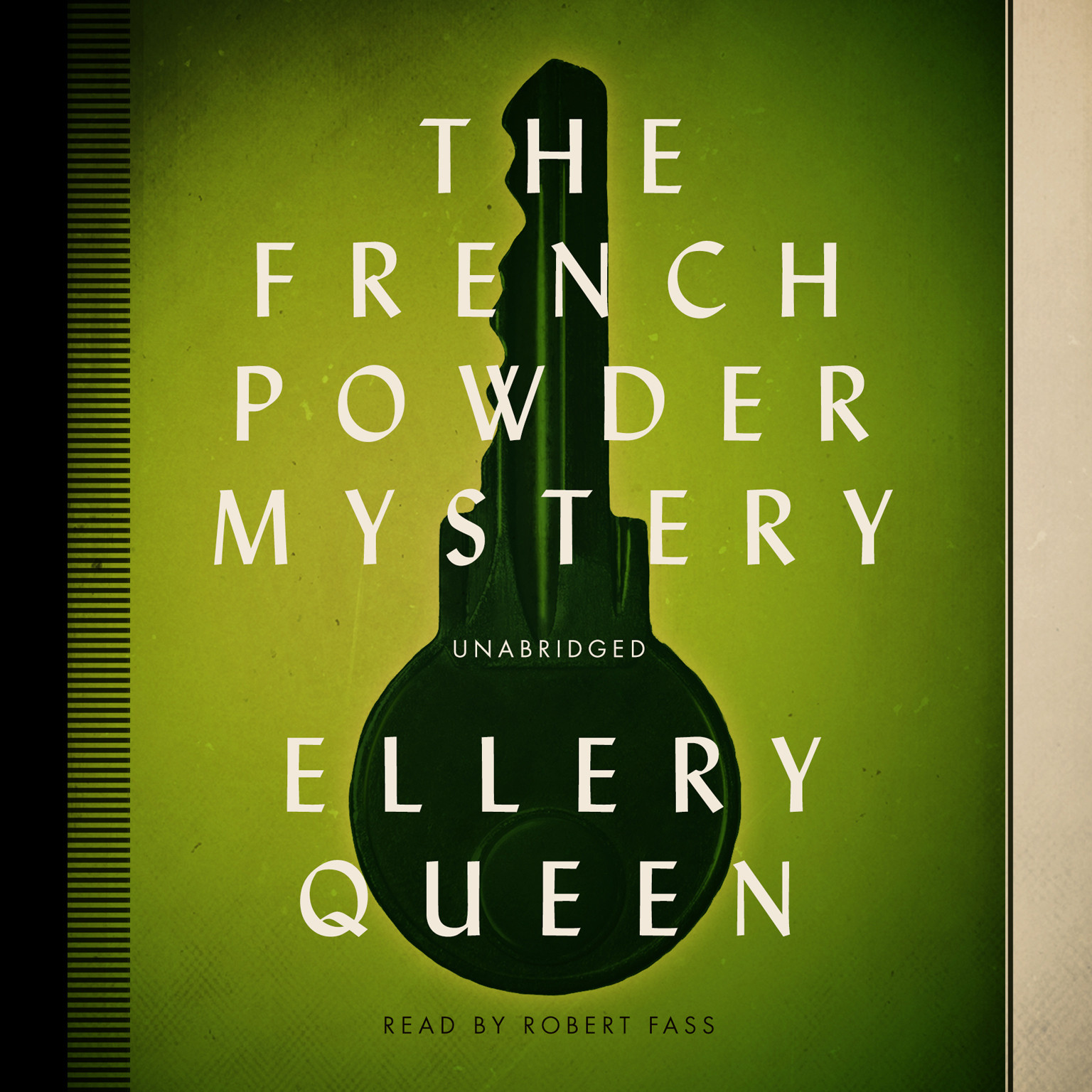 Printable The French Powder Mystery Audiobook Cover Art