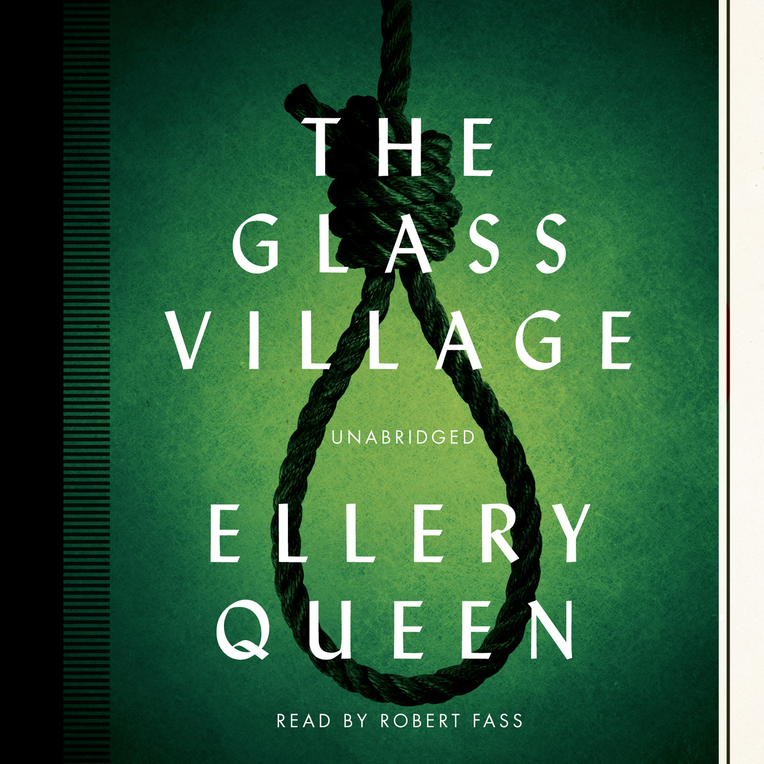 Printable The Glass Village Audiobook Cover Art