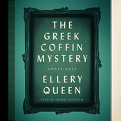 The Greek Coffin Mystery Audiobook, by Ellery Queen