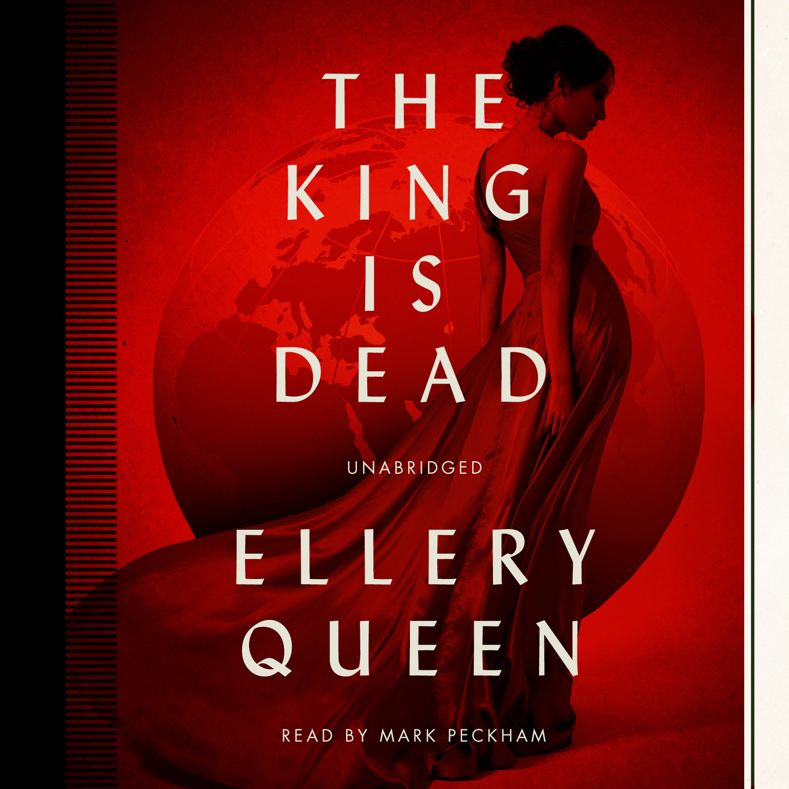 Printable The King Is Dead Audiobook Cover Art