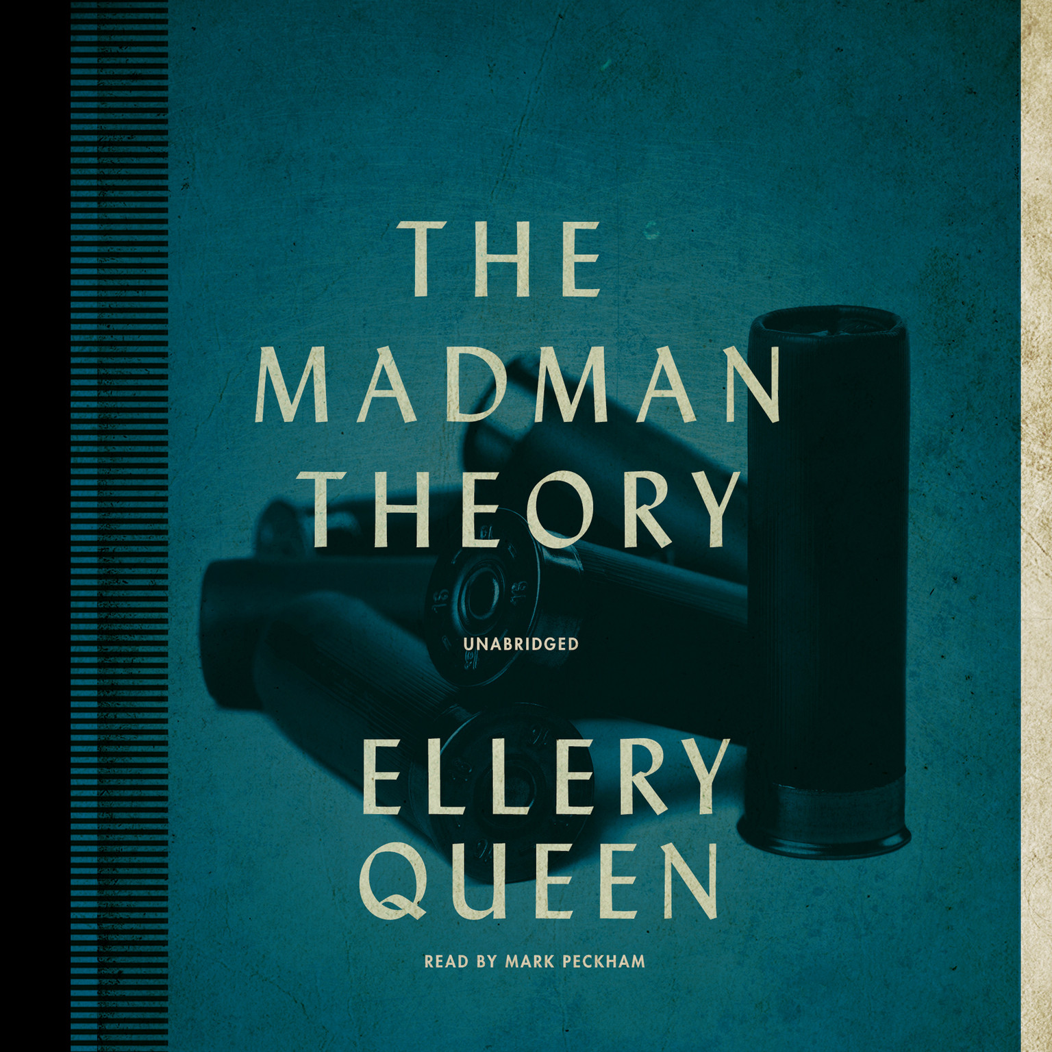 Printable The Madman Theory Audiobook Cover Art