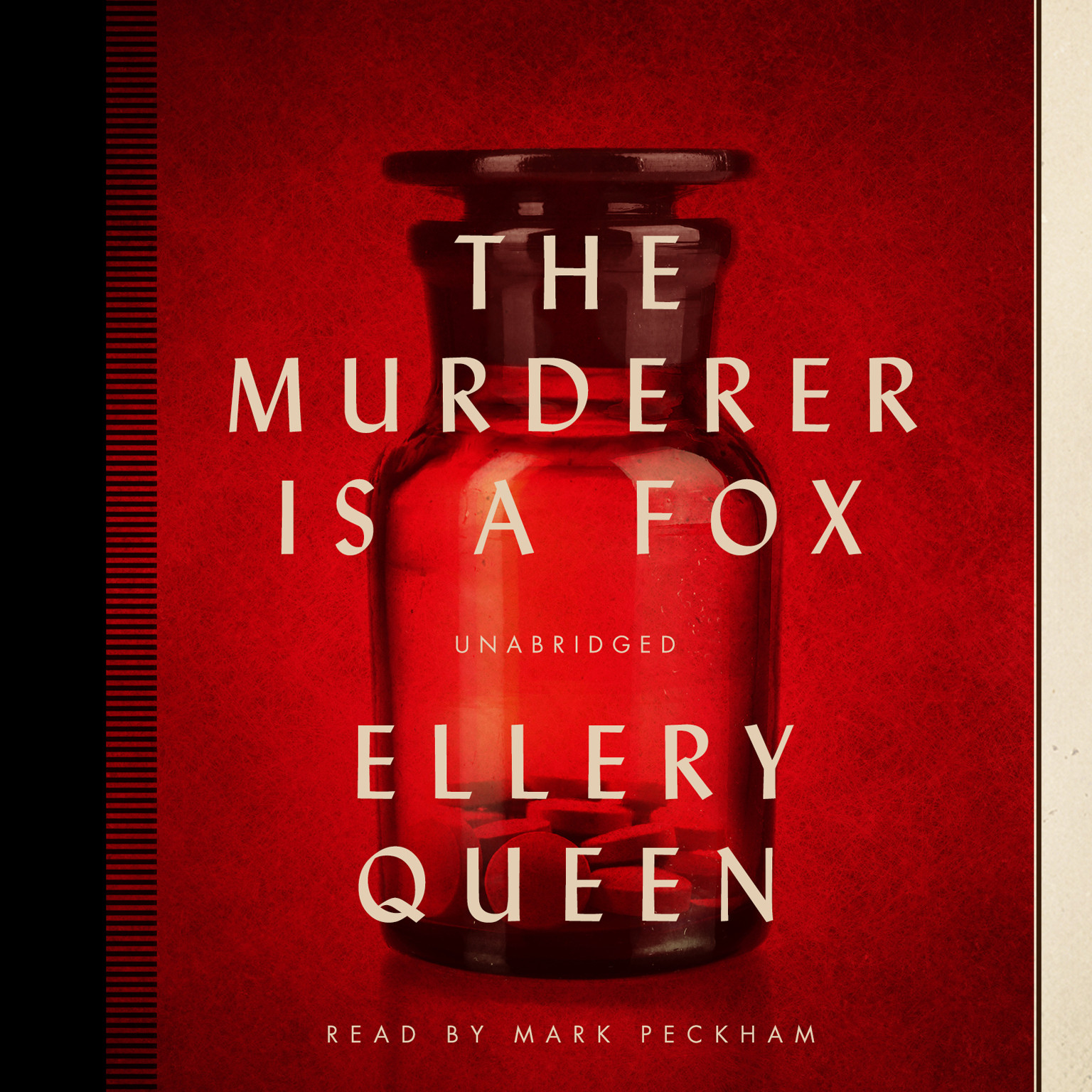 Printable The Murderer Is a Fox Audiobook Cover Art
