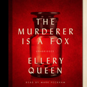 The Murderer Is a Fox Audiobook, by Ellery Queen