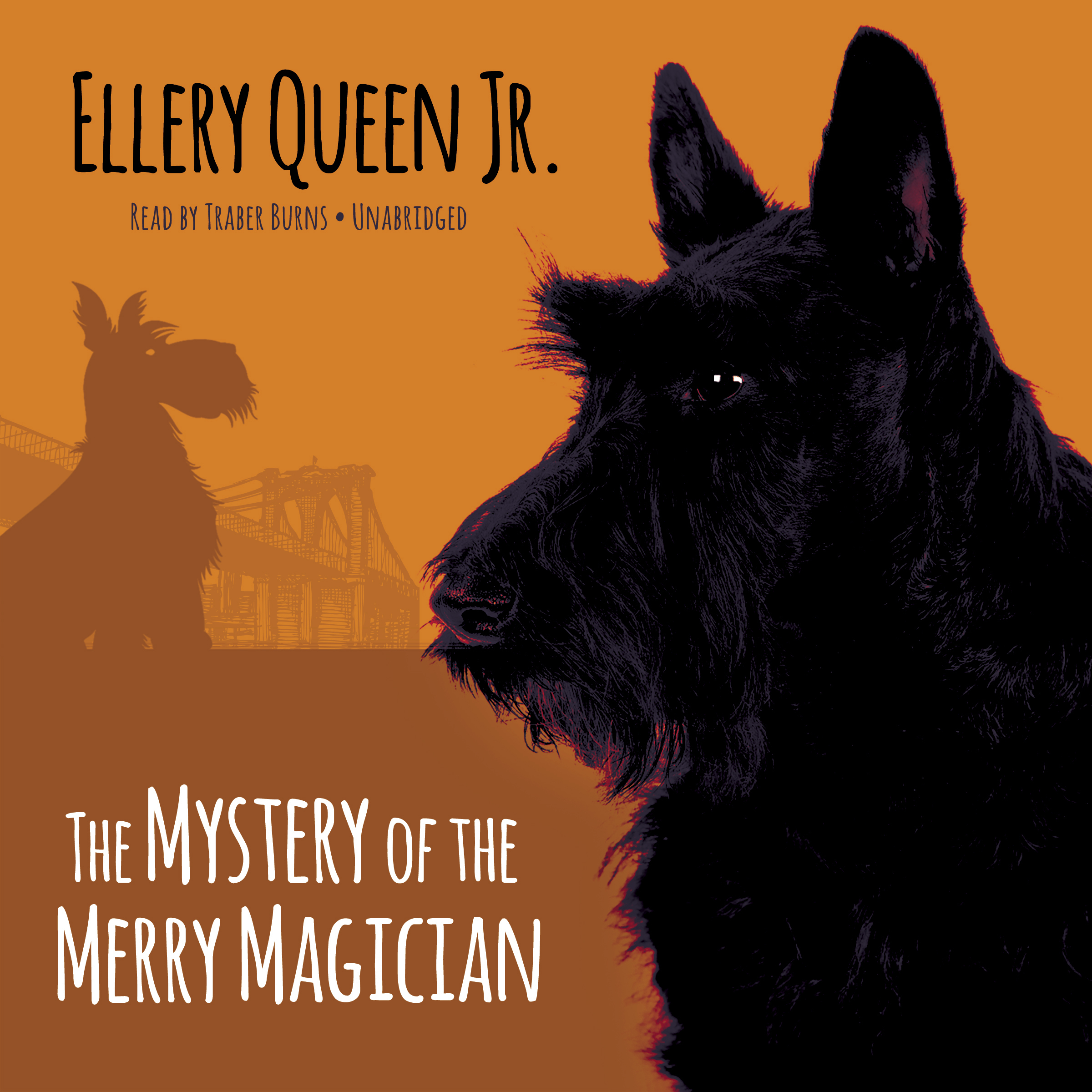 Printable The Mystery of the Merry Magician Audiobook Cover Art