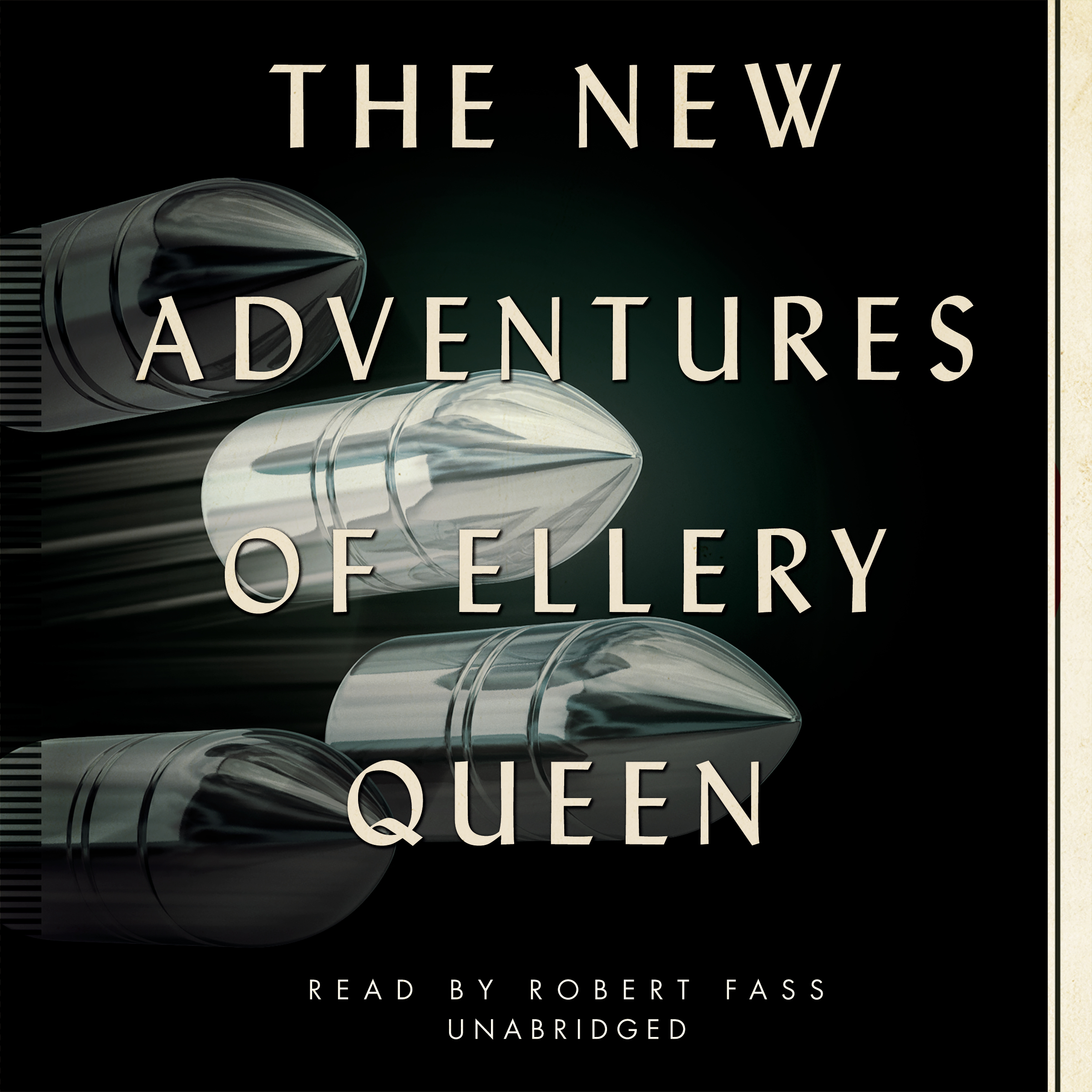 Printable The New Adventures of Ellery Queen Audiobook Cover Art