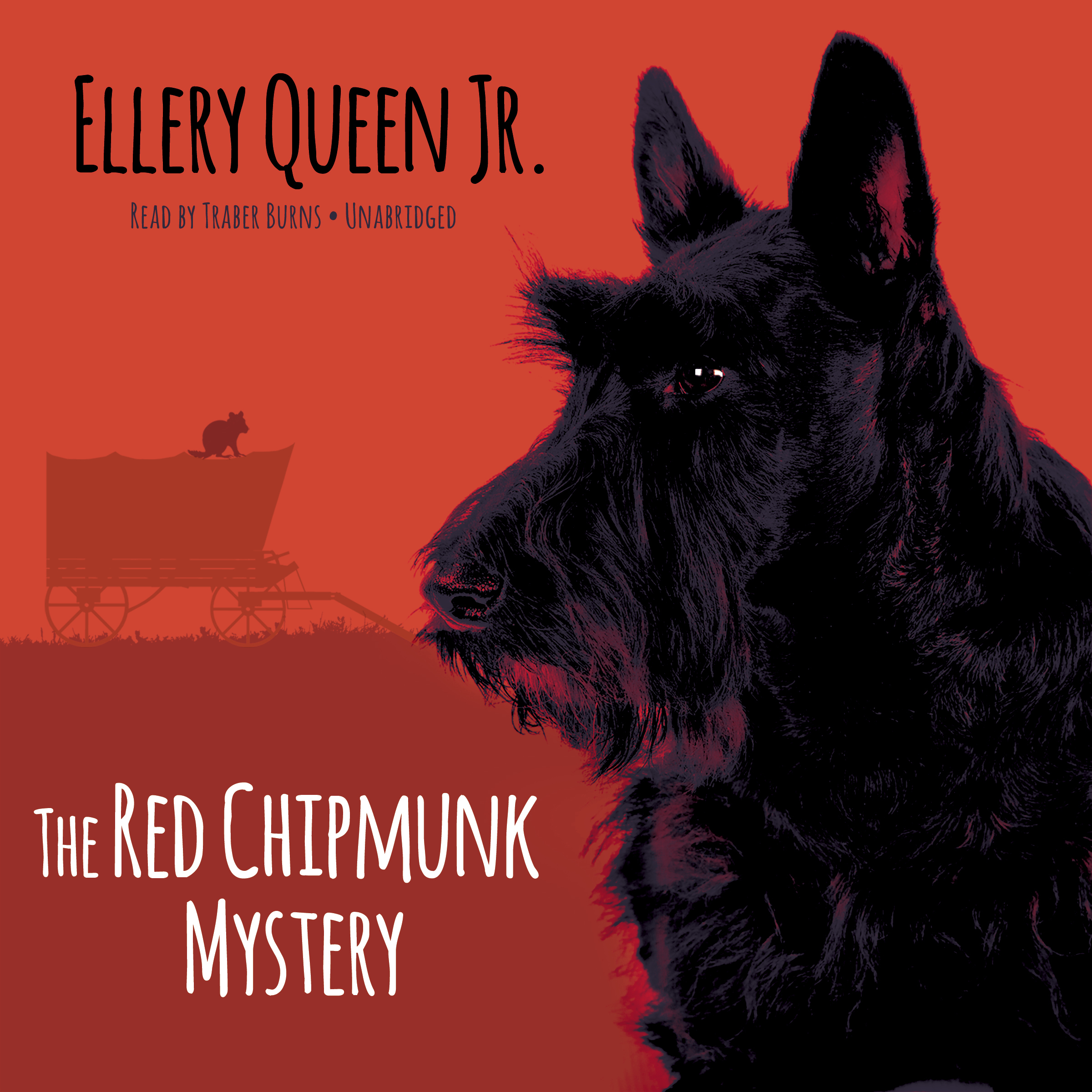 Printable The Red Chipmunk Mystery Audiobook Cover Art