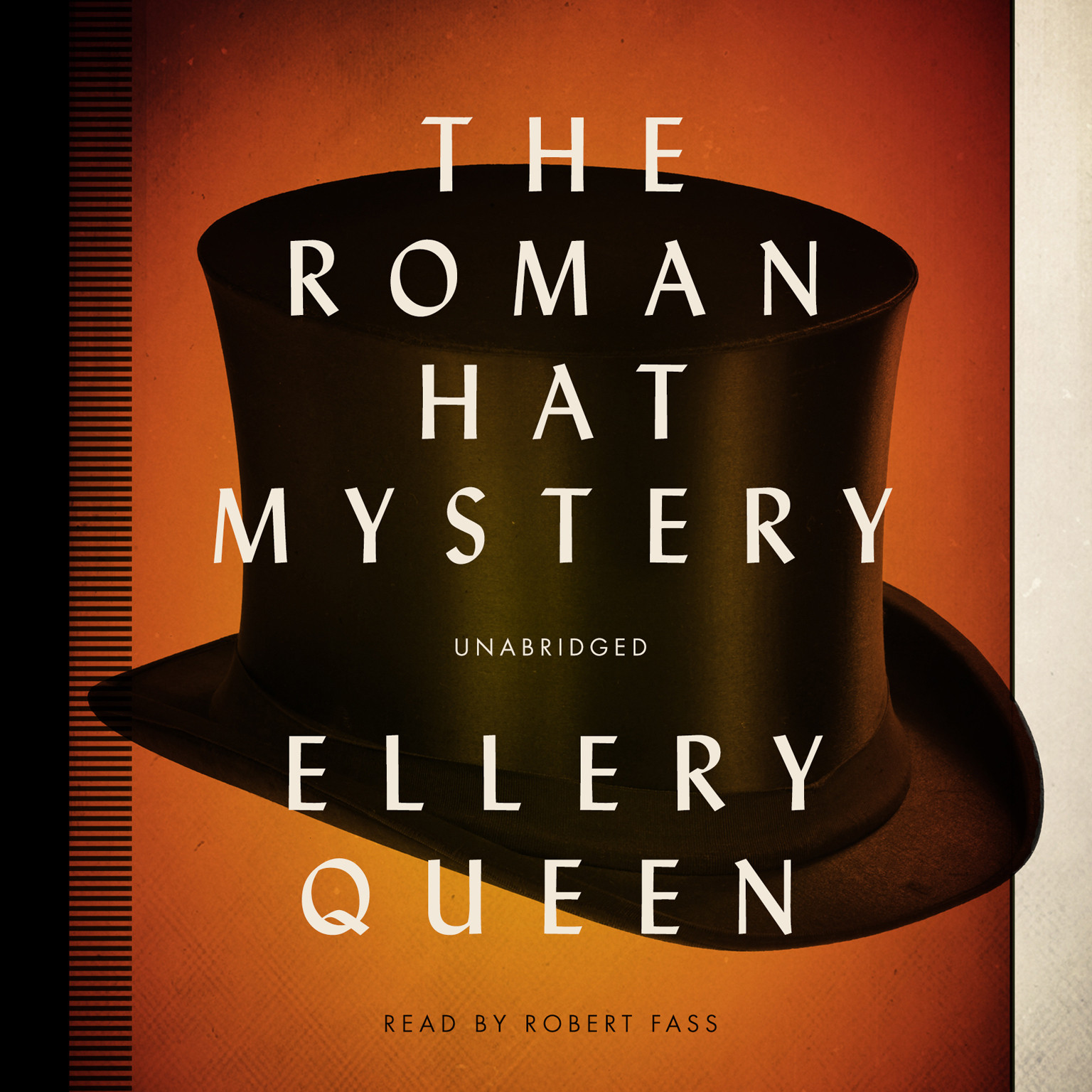 Printable The Roman Hat Mystery Audiobook Cover Art