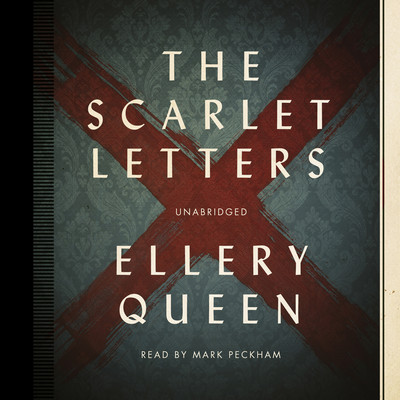The Scarlet Letters Audiobook, by Ellery Queen