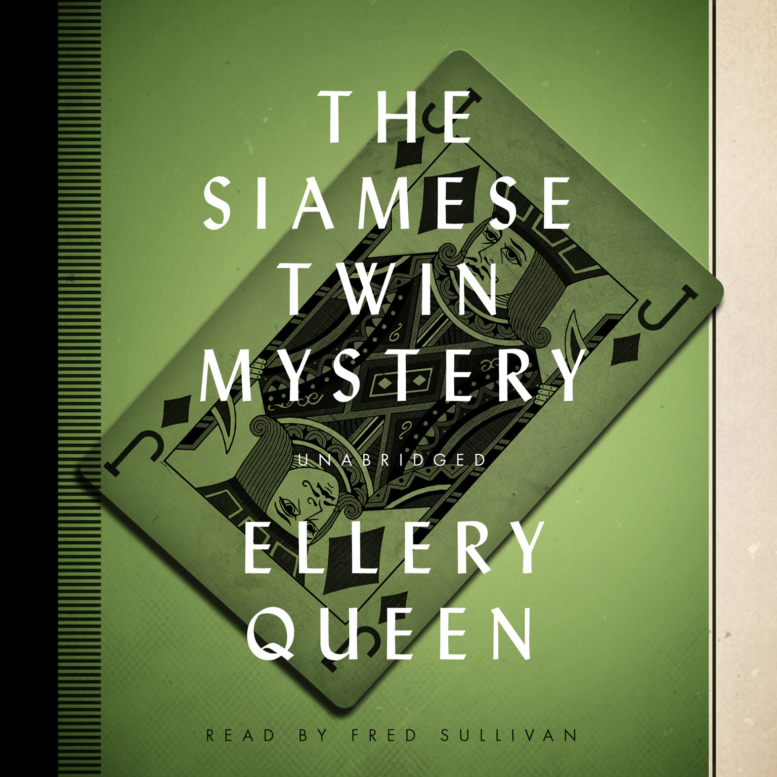 Printable The Siamese Twin Mystery Audiobook Cover Art