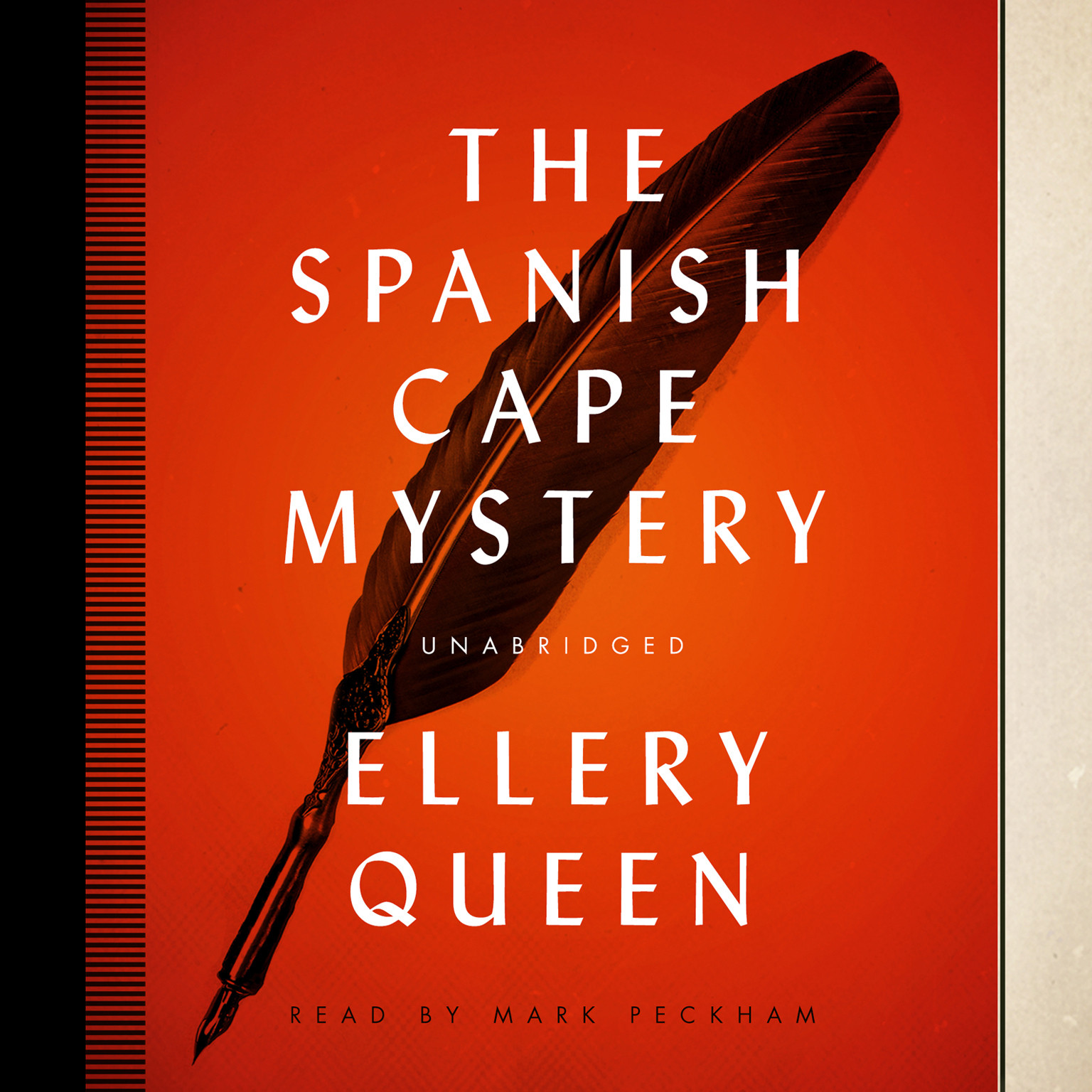 Printable The Spanish Cape Mystery Audiobook Cover Art