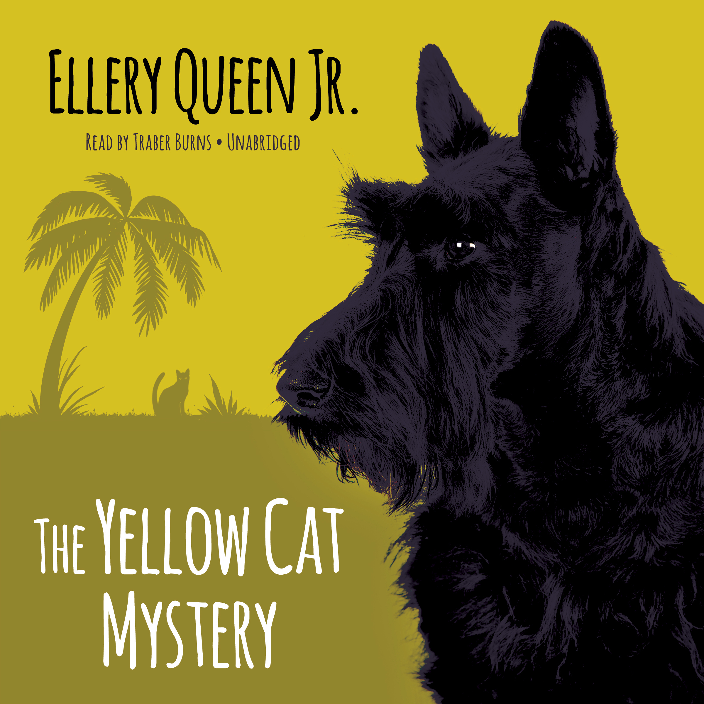 Printable The Yellow Cat Mystery Audiobook Cover Art