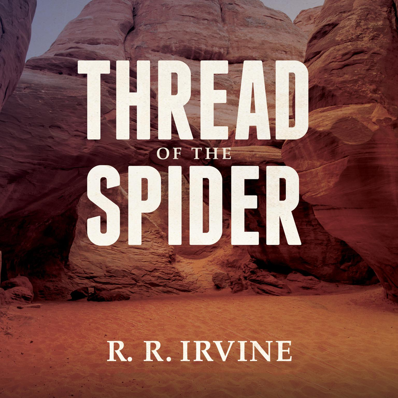 Printable Thread of the Spider Audiobook Cover Art