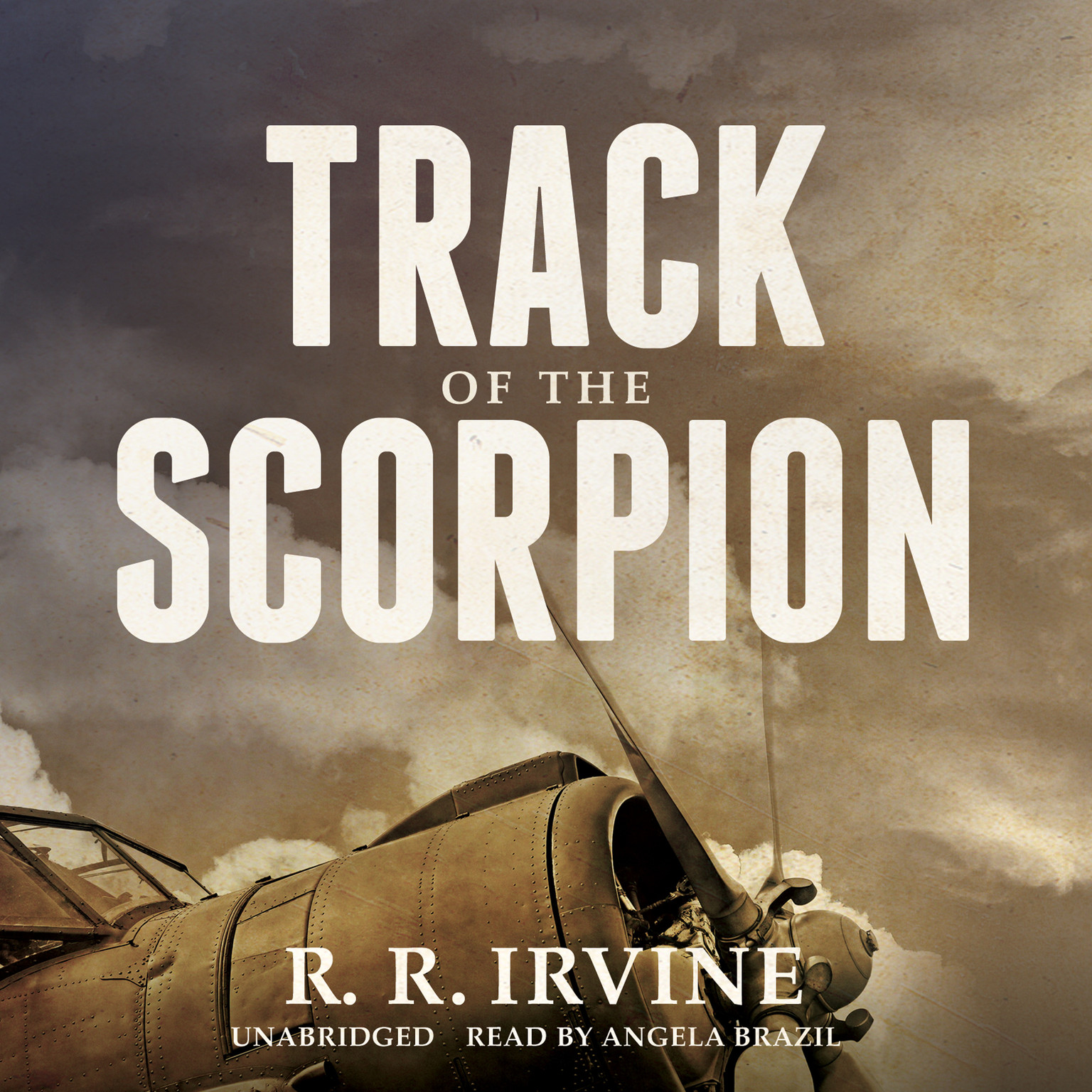 Printable Track of the Scorpion Audiobook Cover Art